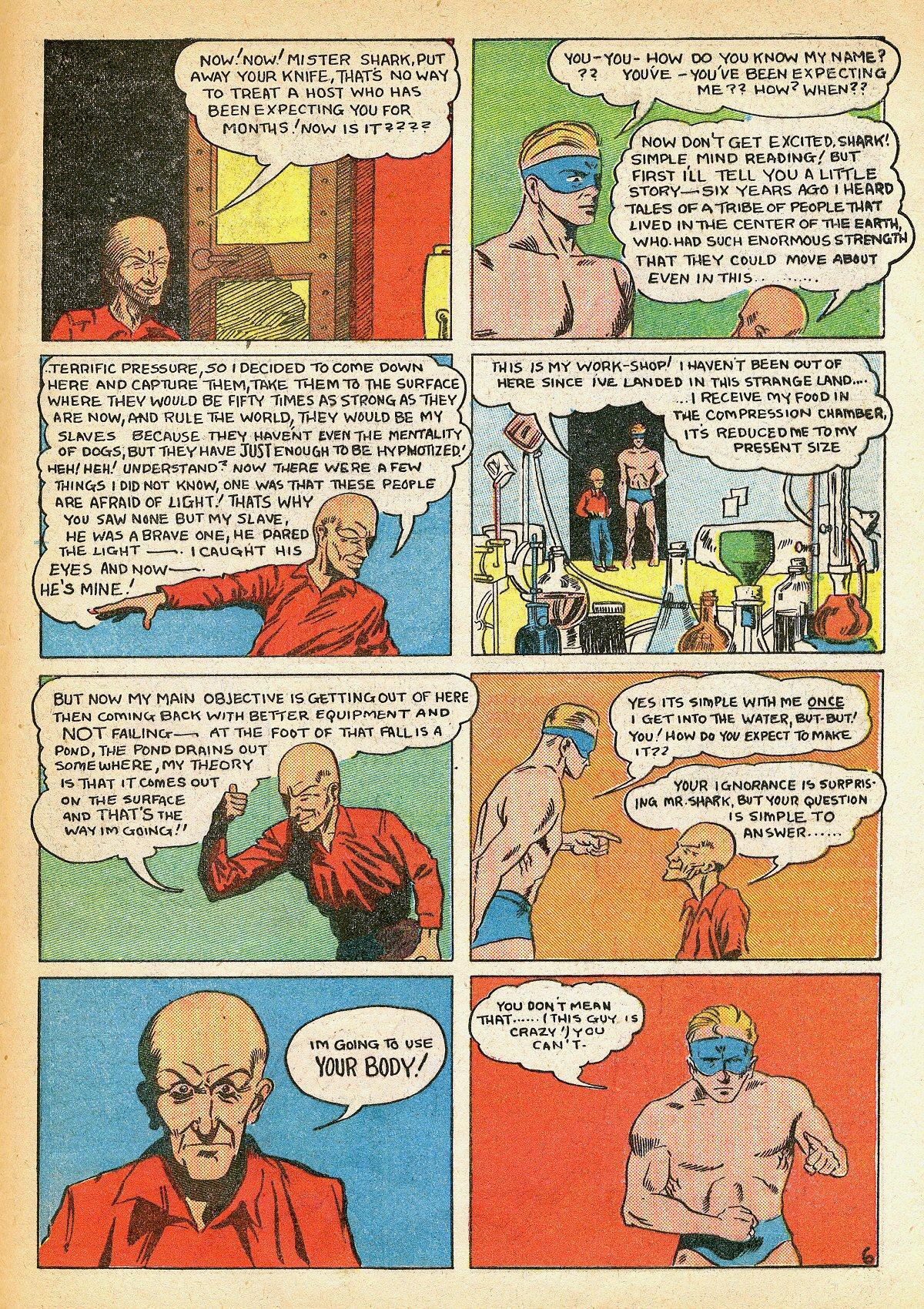 Read online Amazing Man Comics comic -  Issue #10 - 64