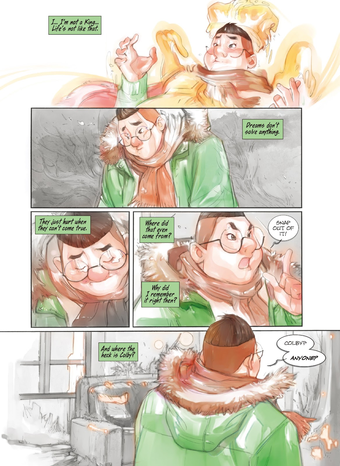 Read online Makeshift Miracle: The Girl From Nowhere comic -  Issue #7 - 7