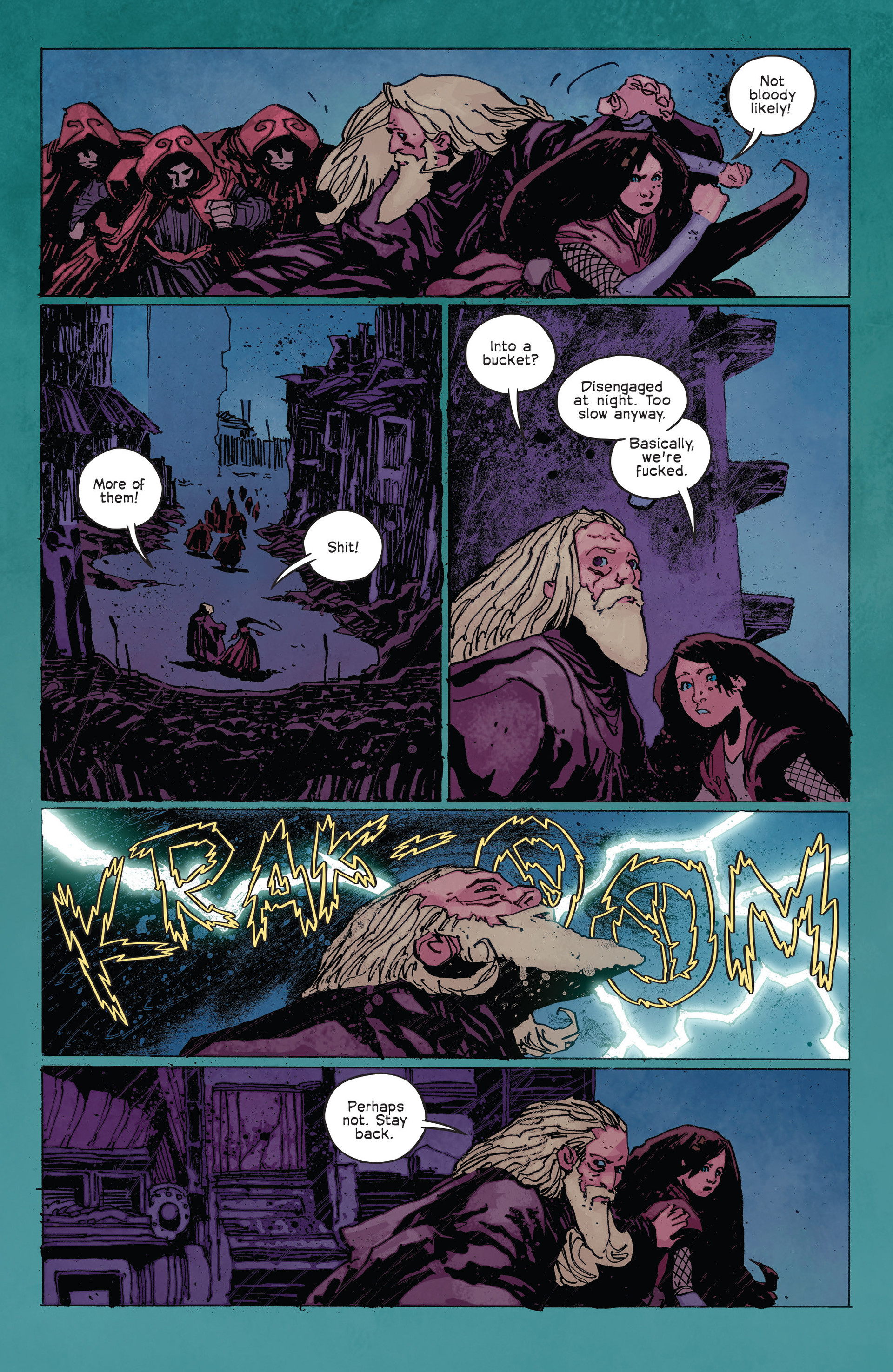 Read online Umbral comic -  Issue #2 - 14