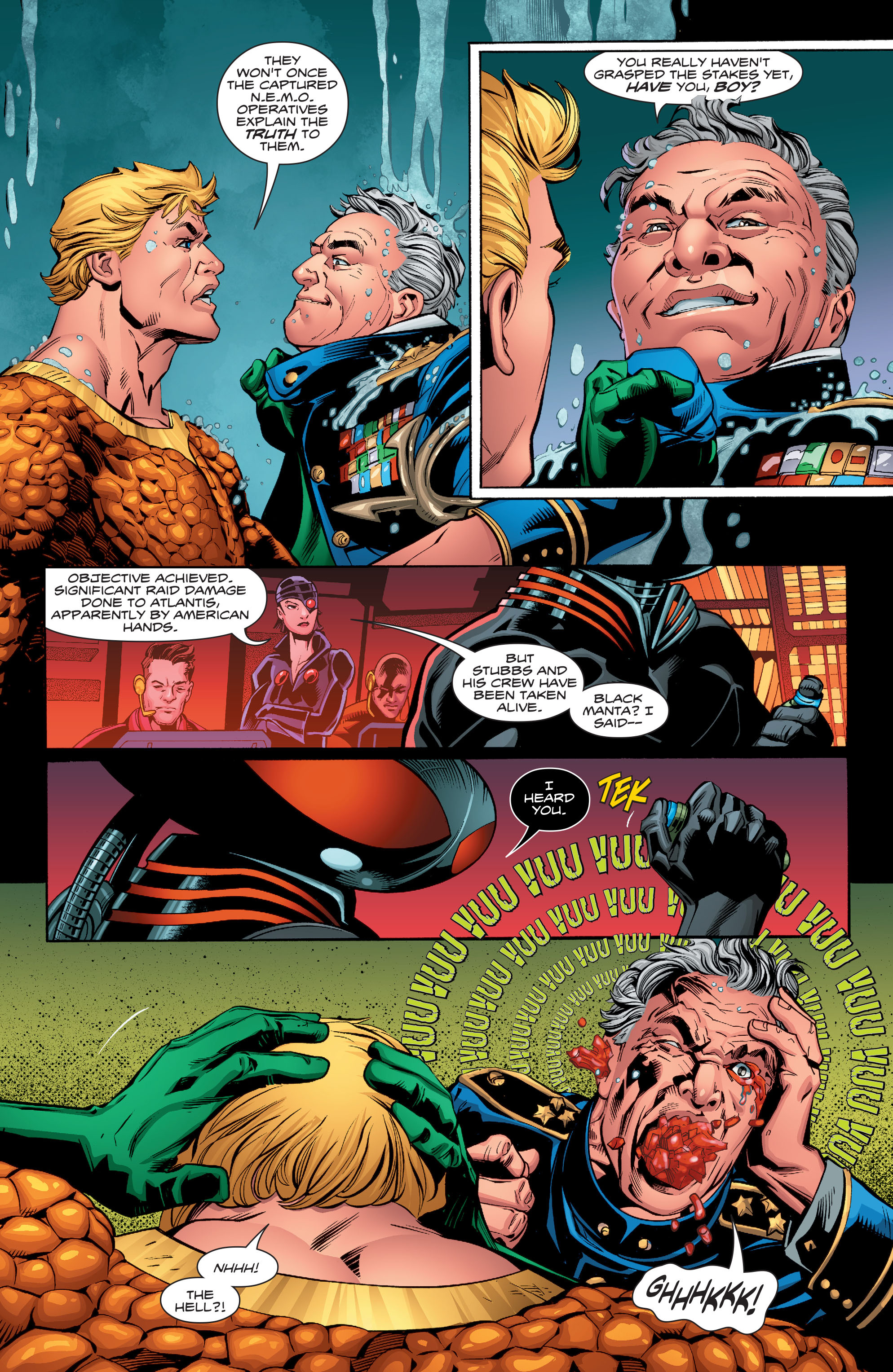 Read online Aquaman (2016) comic -  Issue #13 - 18