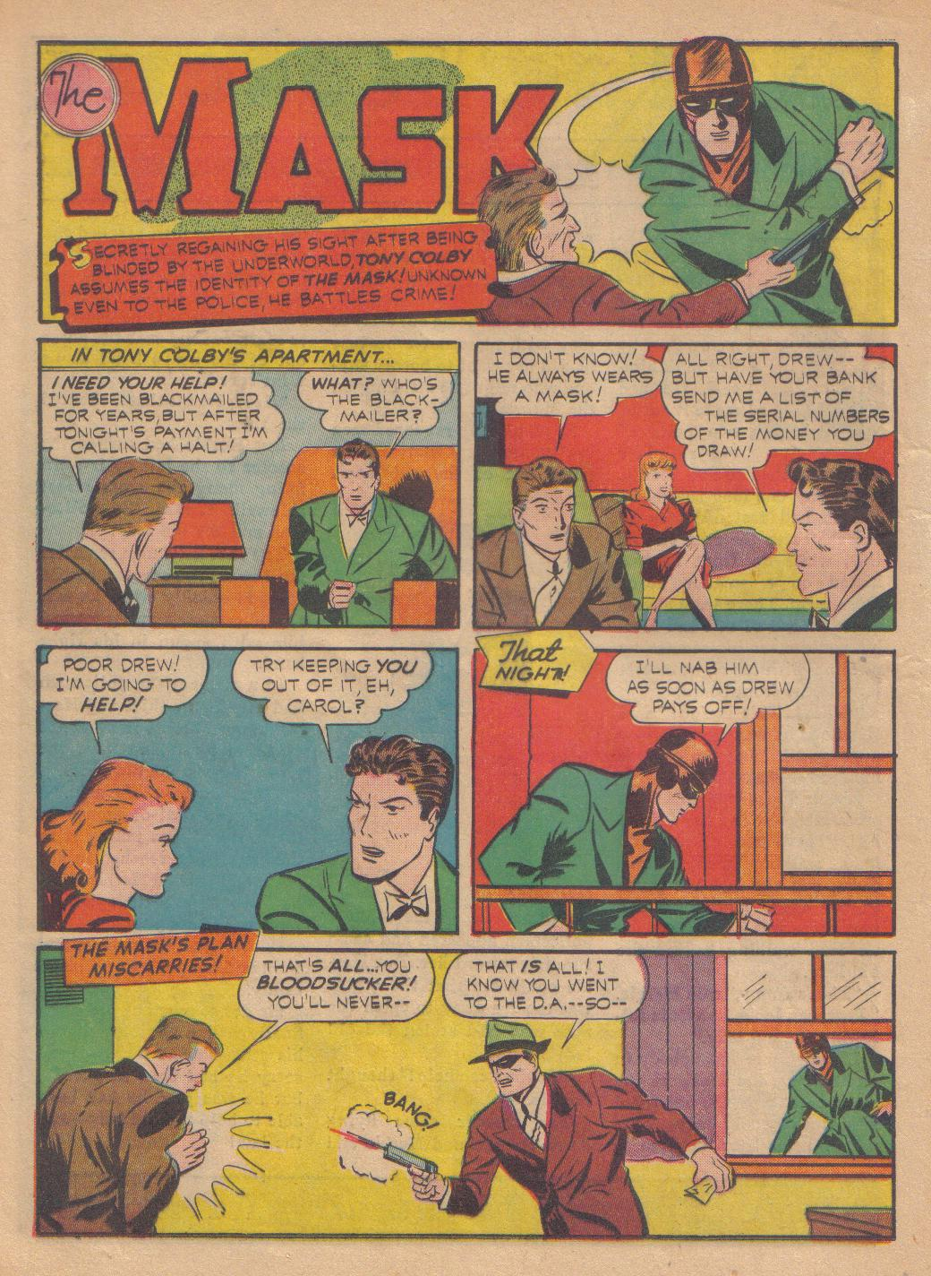 Exciting Comics (1940) issue 13 - Page 38