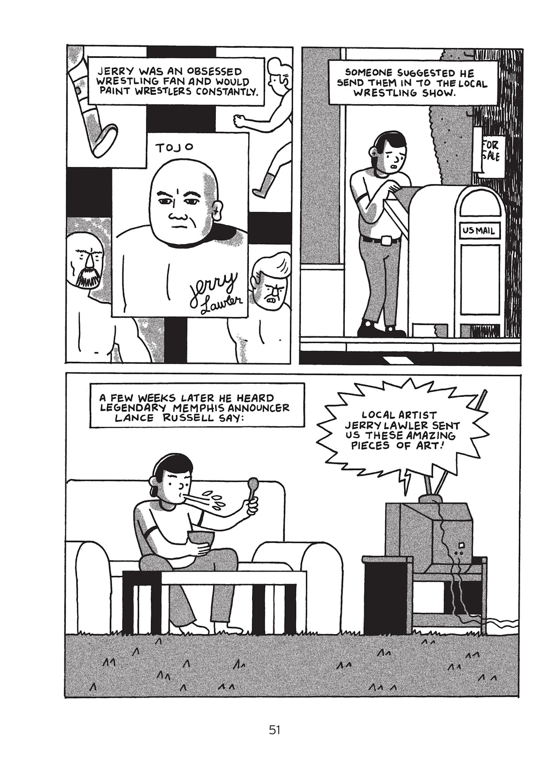 Read online Is This Guy For Real?: The Unbelievable Andy Kaufman comic -  Issue # TPB (Part 1) - 56