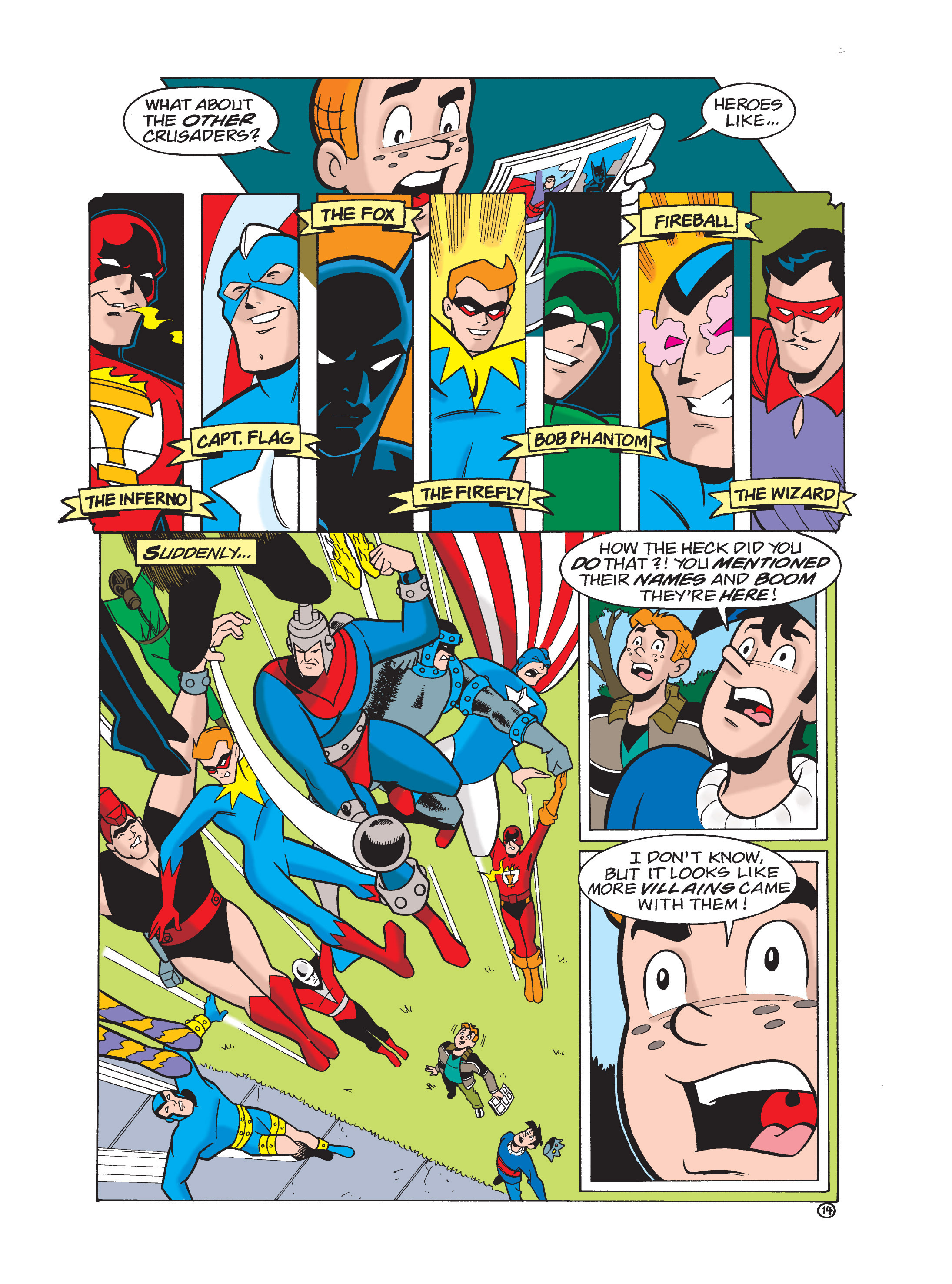 Read online Archie 75th Anniversary Digest comic -  Issue #1 - 130