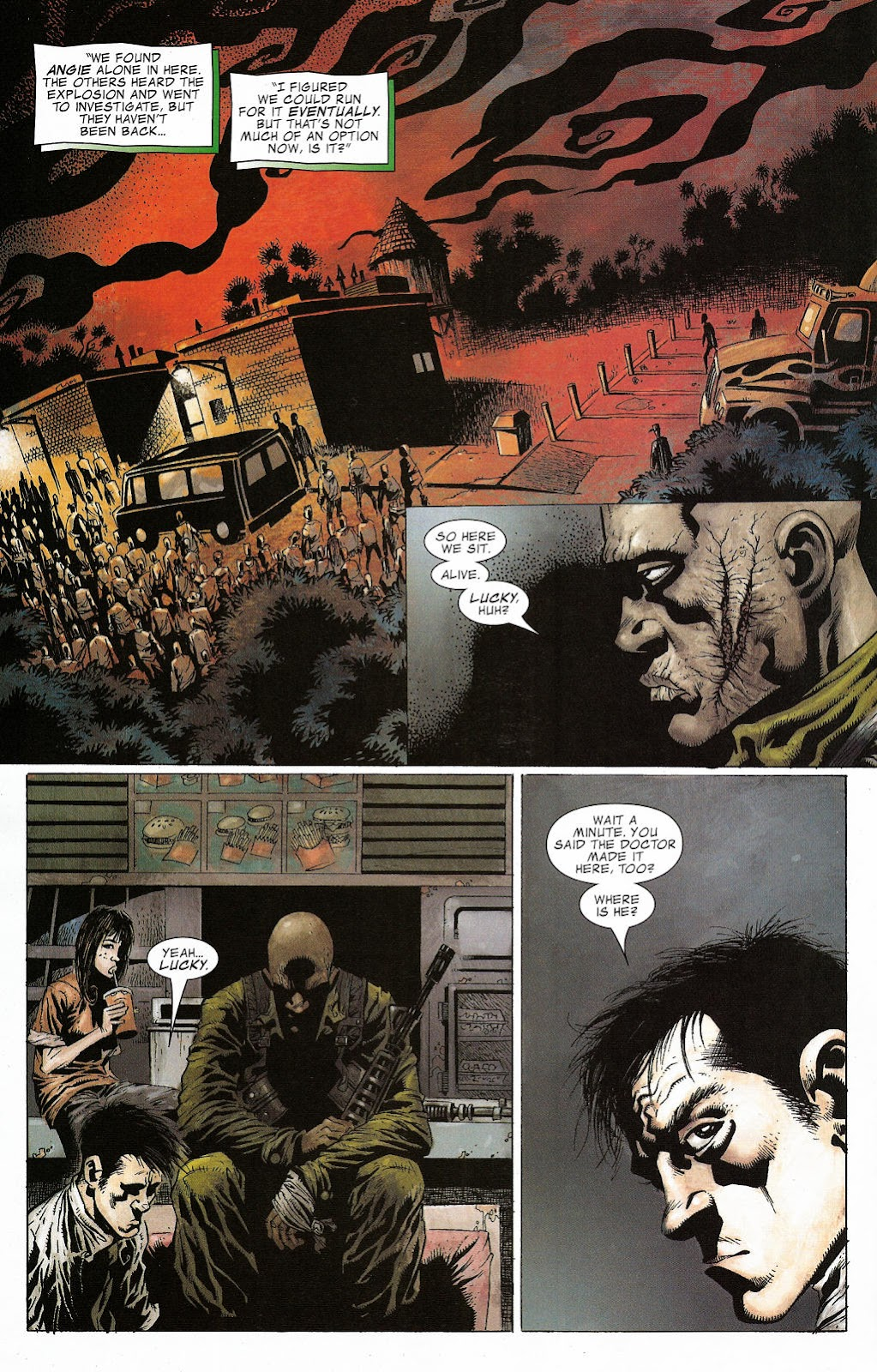 Read online Zombie (2006) comic -  Issue #2 - 5