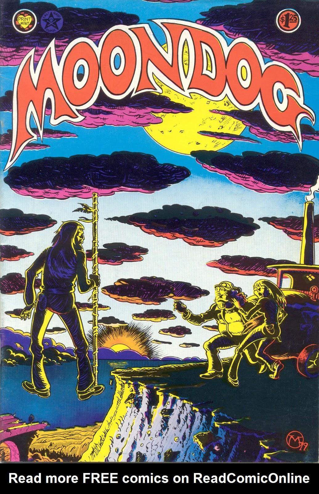 Moondog issue 4 - Page 1