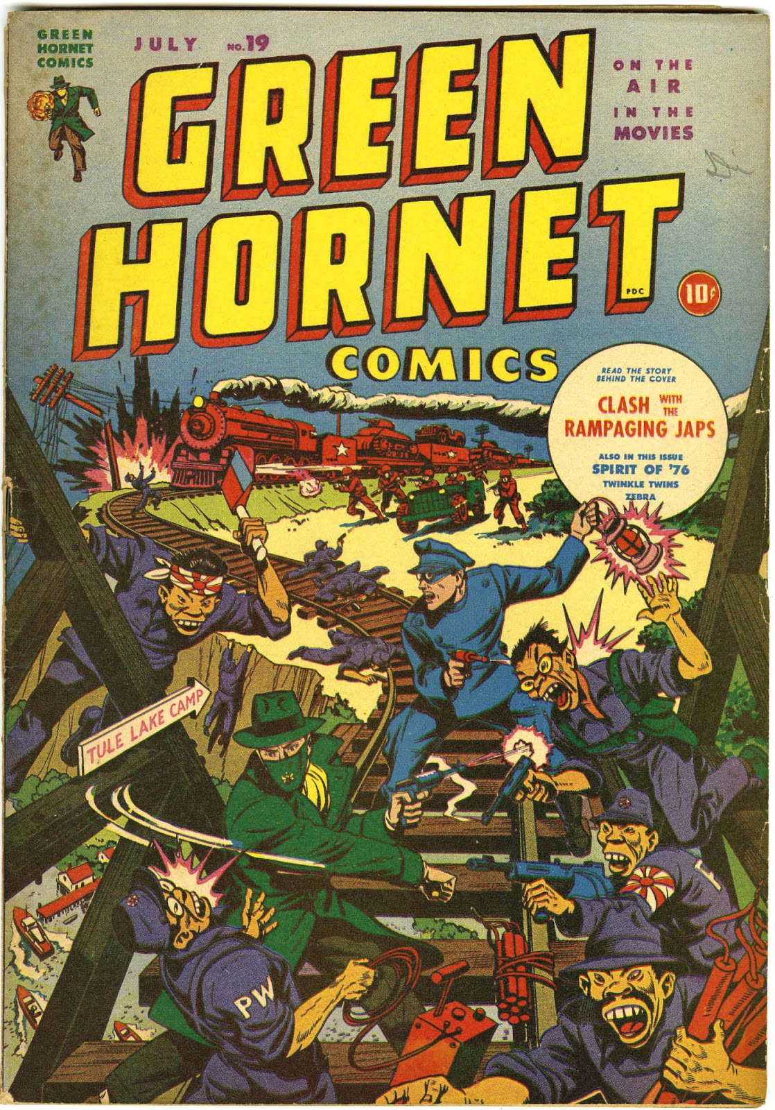 Green Hornet Comics issue 19 - Page 1