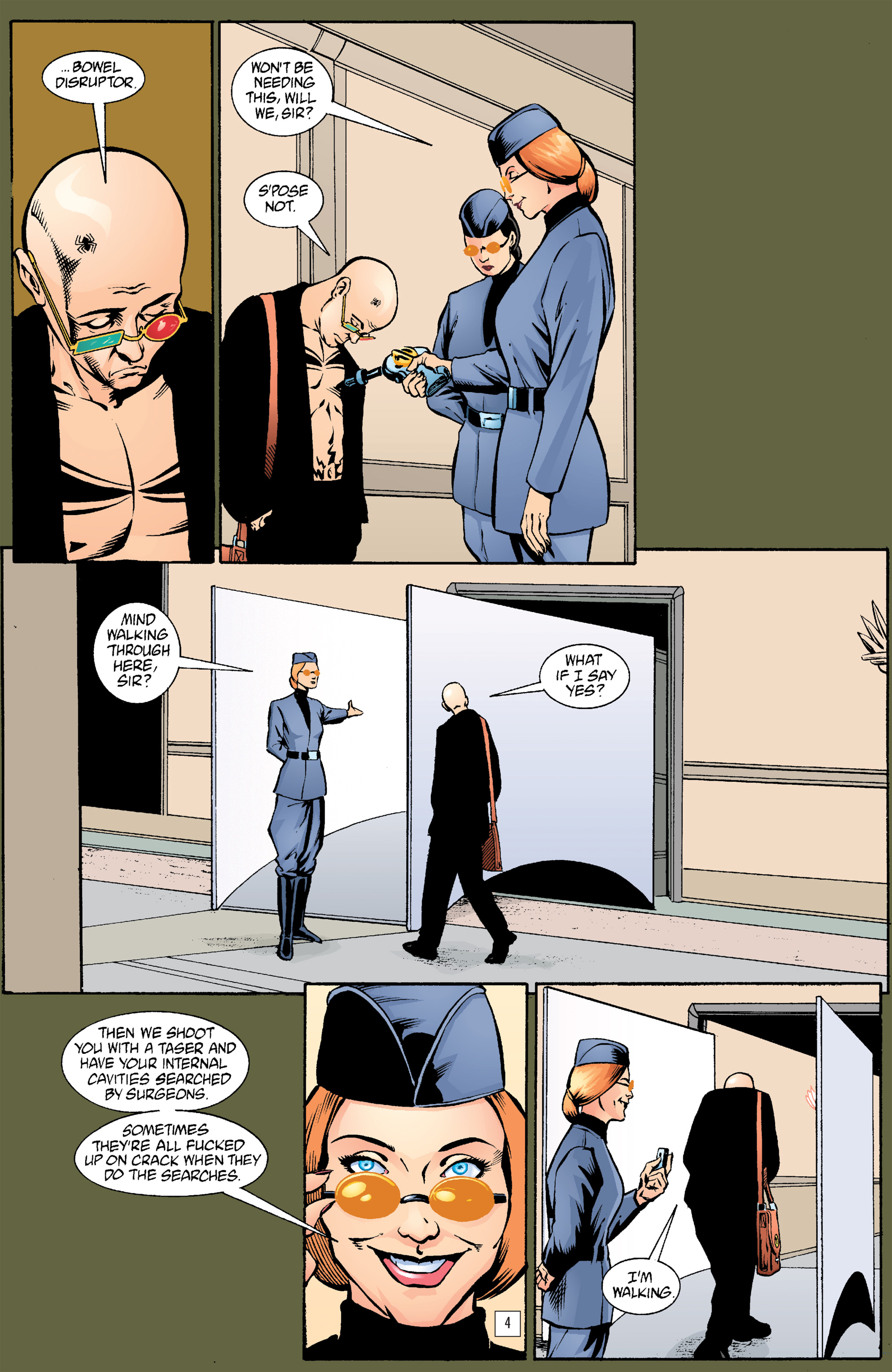 Read online Transmetropolitan comic -  Issue #21 - 5