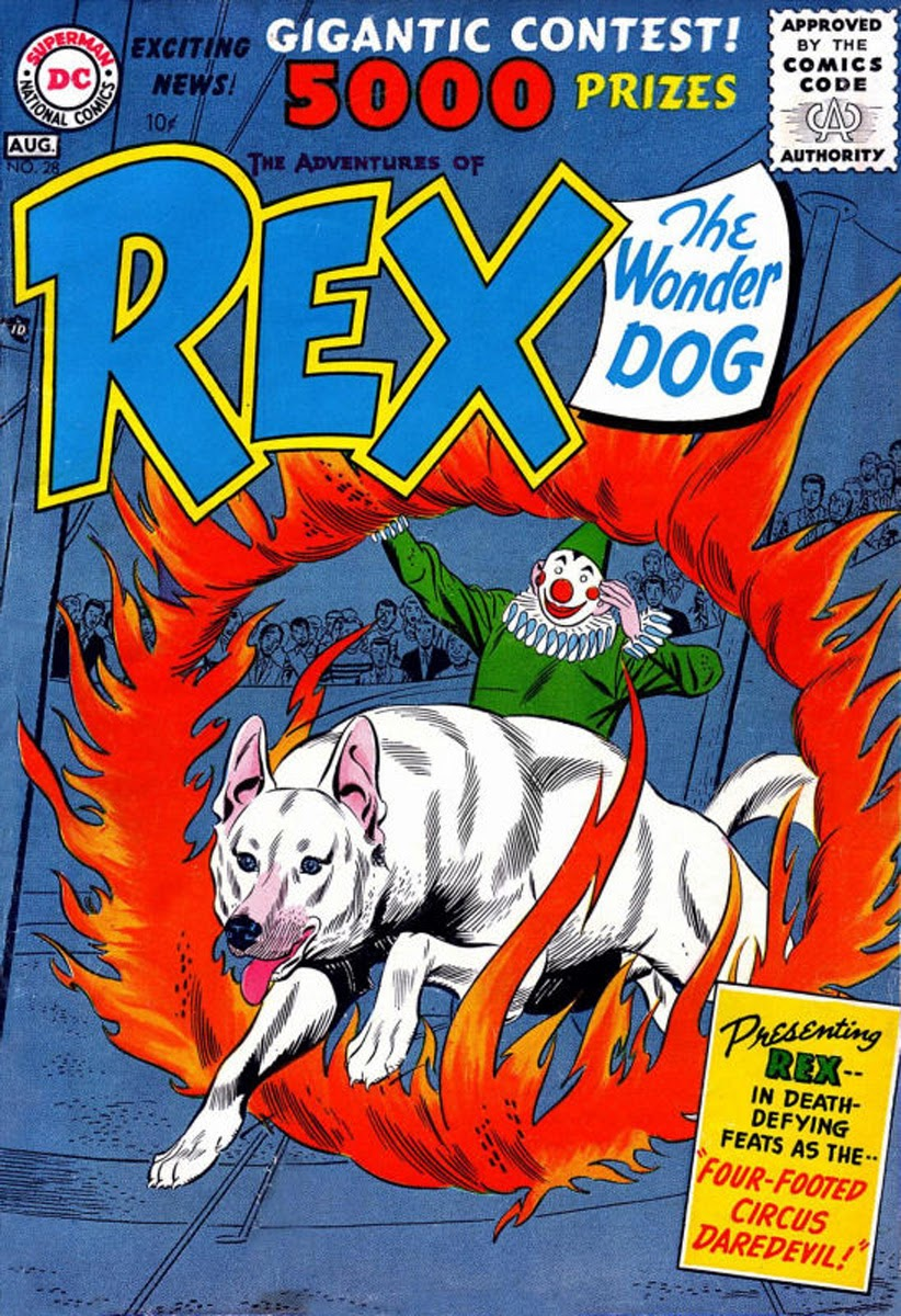 The Adventures of Rex the Wonder Dog issue 28 - Page 1