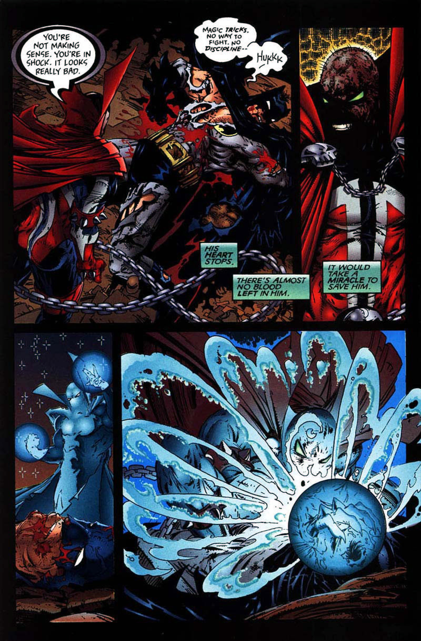 Read online Spawn-Batman comic -  Issue # Full - 40