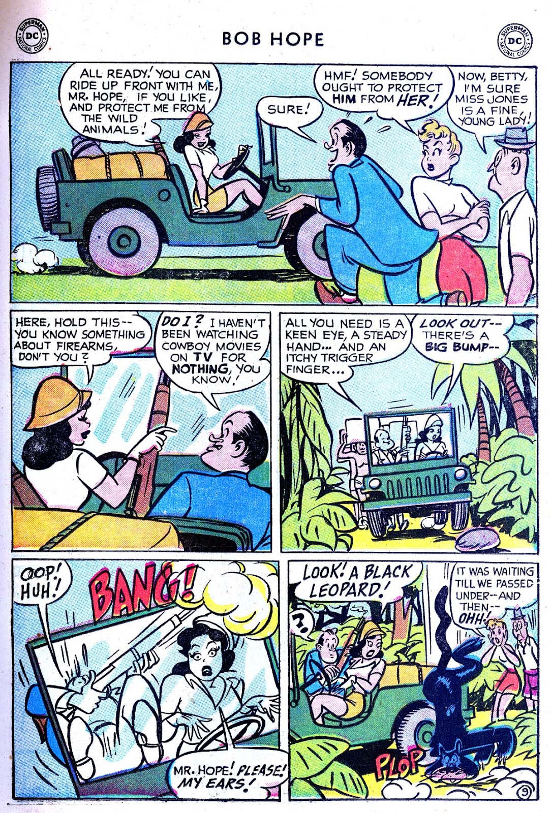The Adventures of Bob Hope issue 33 - Page 11