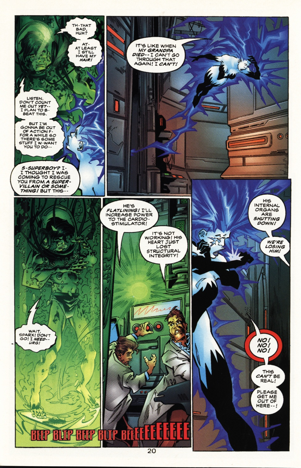 Read online Superboy & The Ravers comic -  Issue #10 - 20