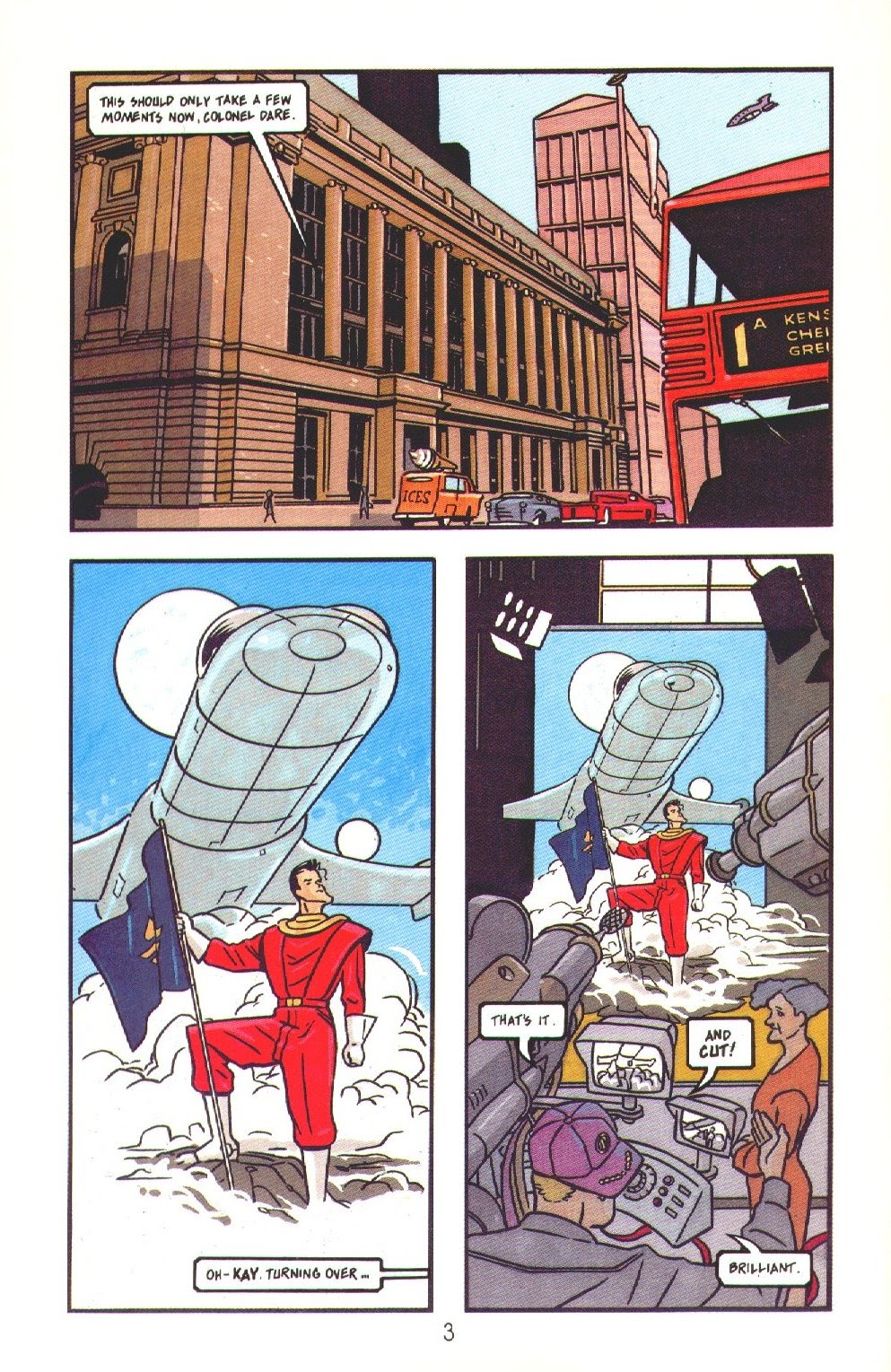 Read online Dare comic -  Issue #3 - 5