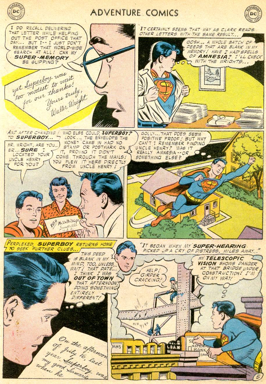 Read online Adventure Comics (1938) comic -  Issue #227 - 7