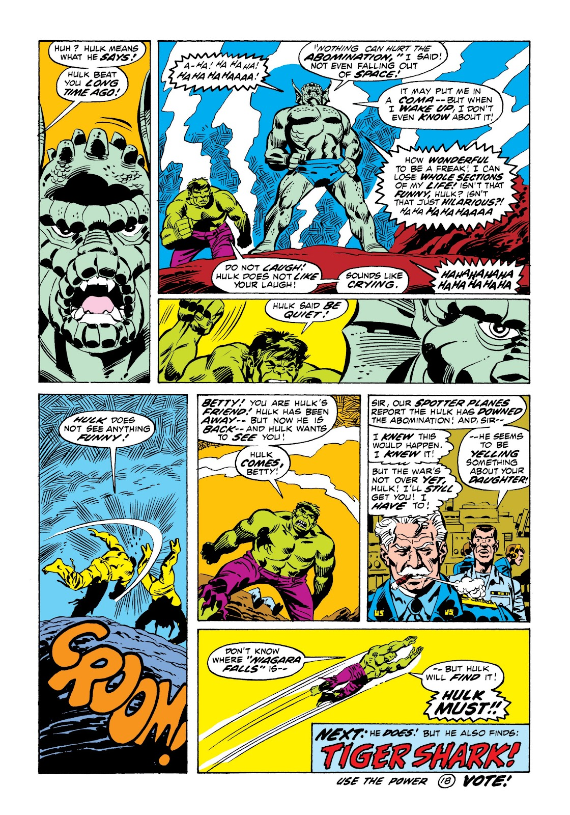 Read online Marvel Masterworks: The Incredible Hulk comic -  Issue # TPB 9 (Part 1) - 71
