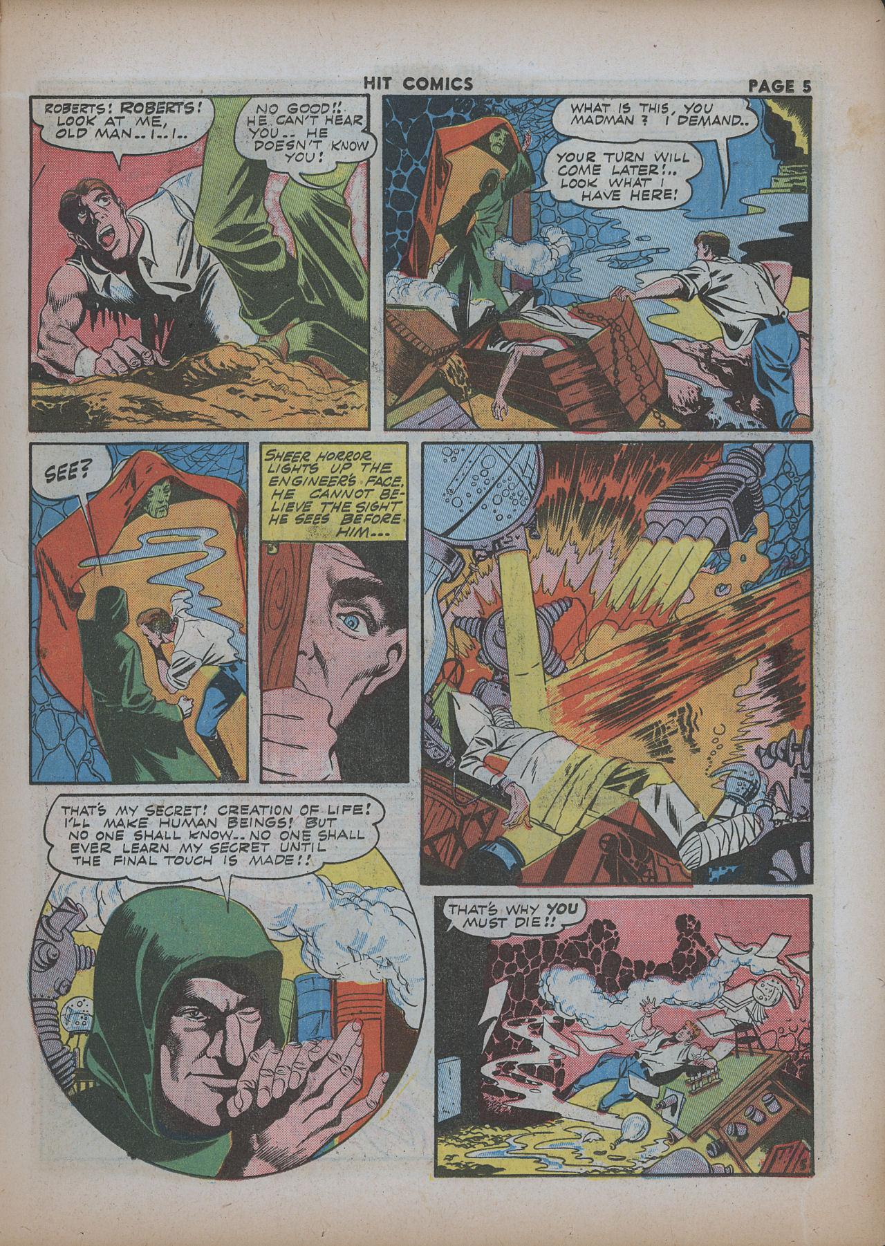 Read online Hit Comics comic -  Issue #26 - 7