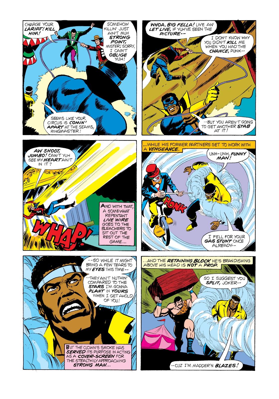 Read online Marvel Masterworks: Luke Cage, Power Man comic -  Issue # TPB 2 (Part 2) - 76