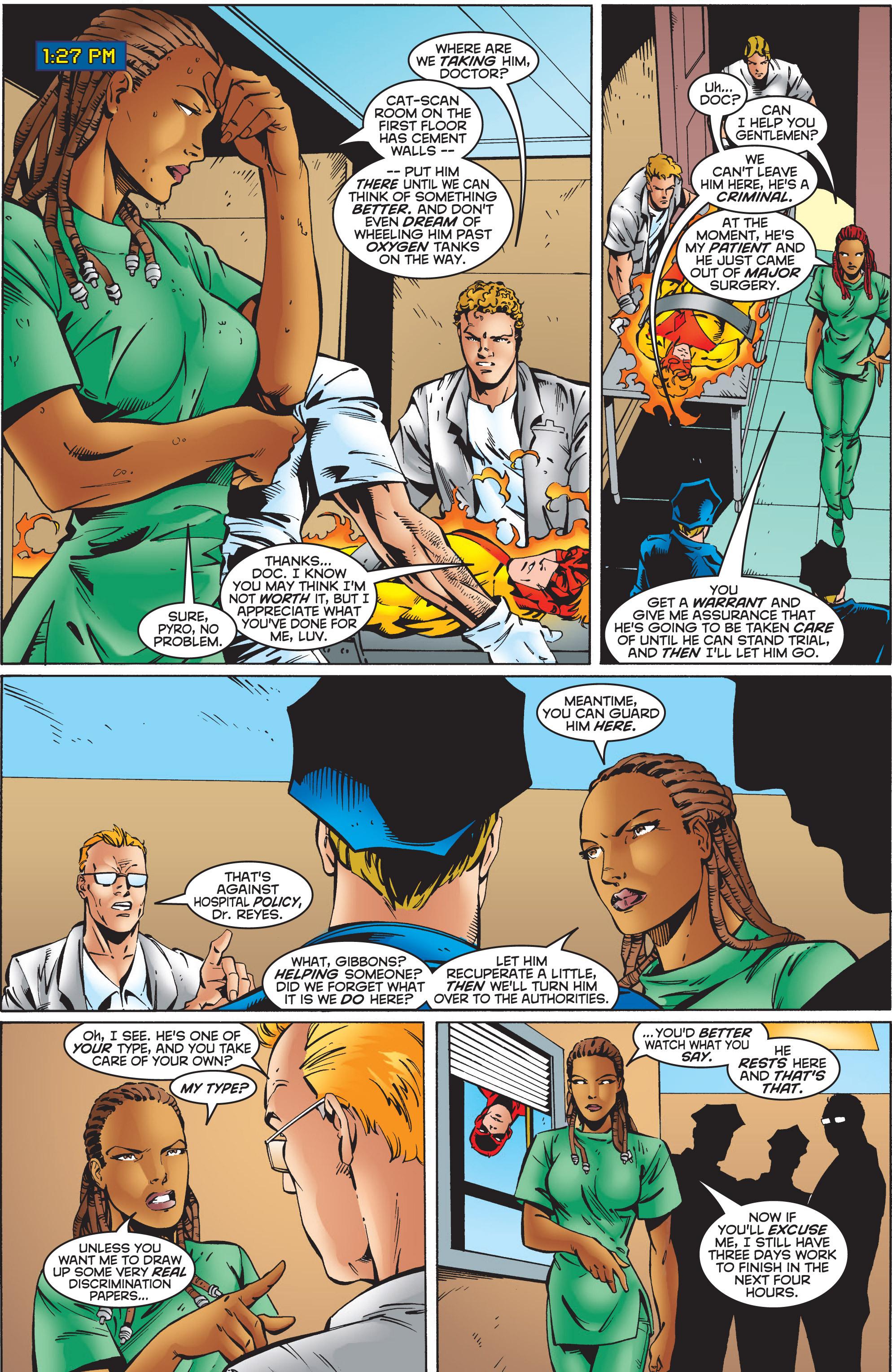 Read online Uncanny X-Men (1963) comic -  Issue #351 - 16