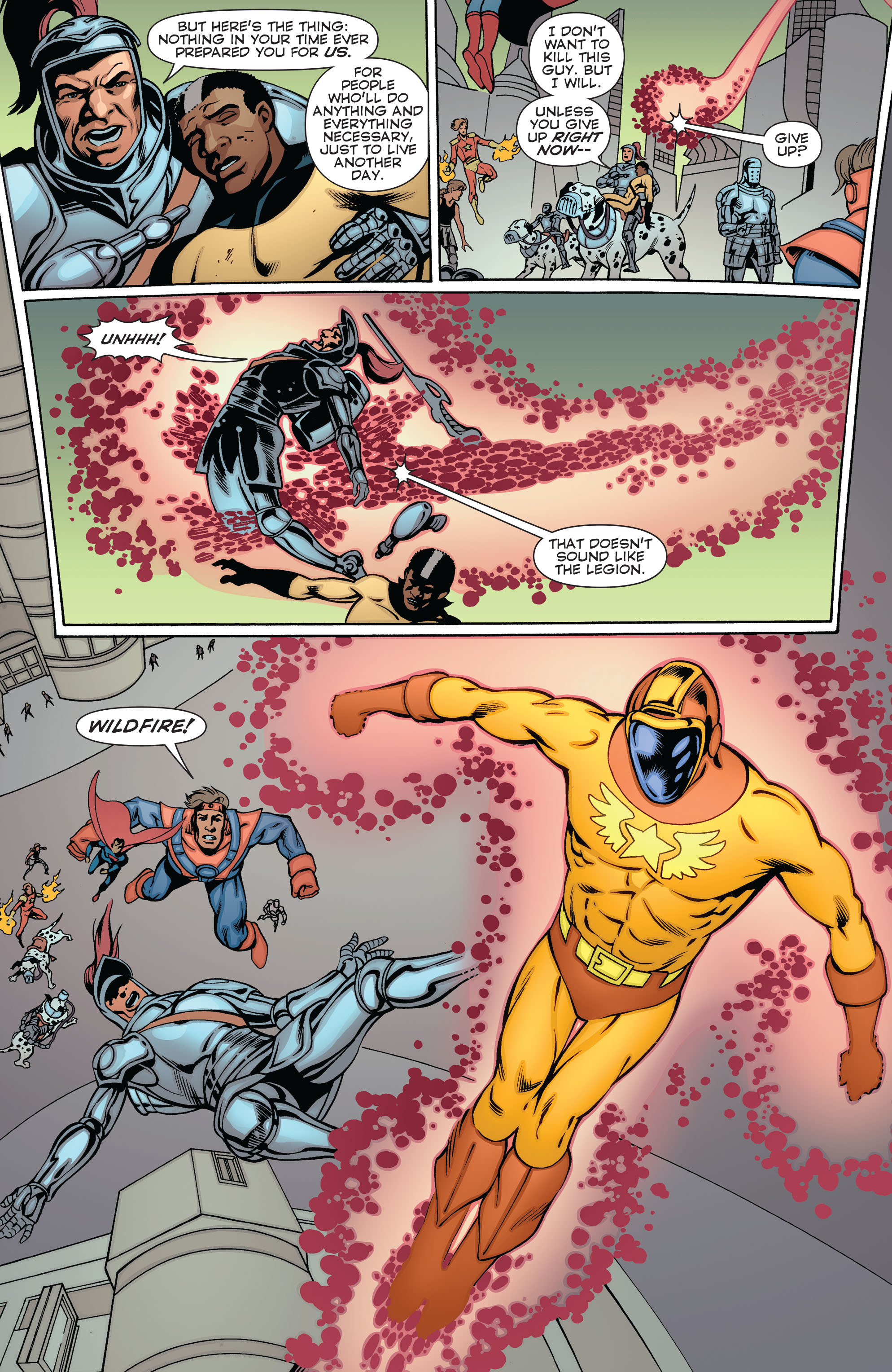 Read online Convergence Superboy and the Legion of Super-Heroes comic -  Issue #2 - 14