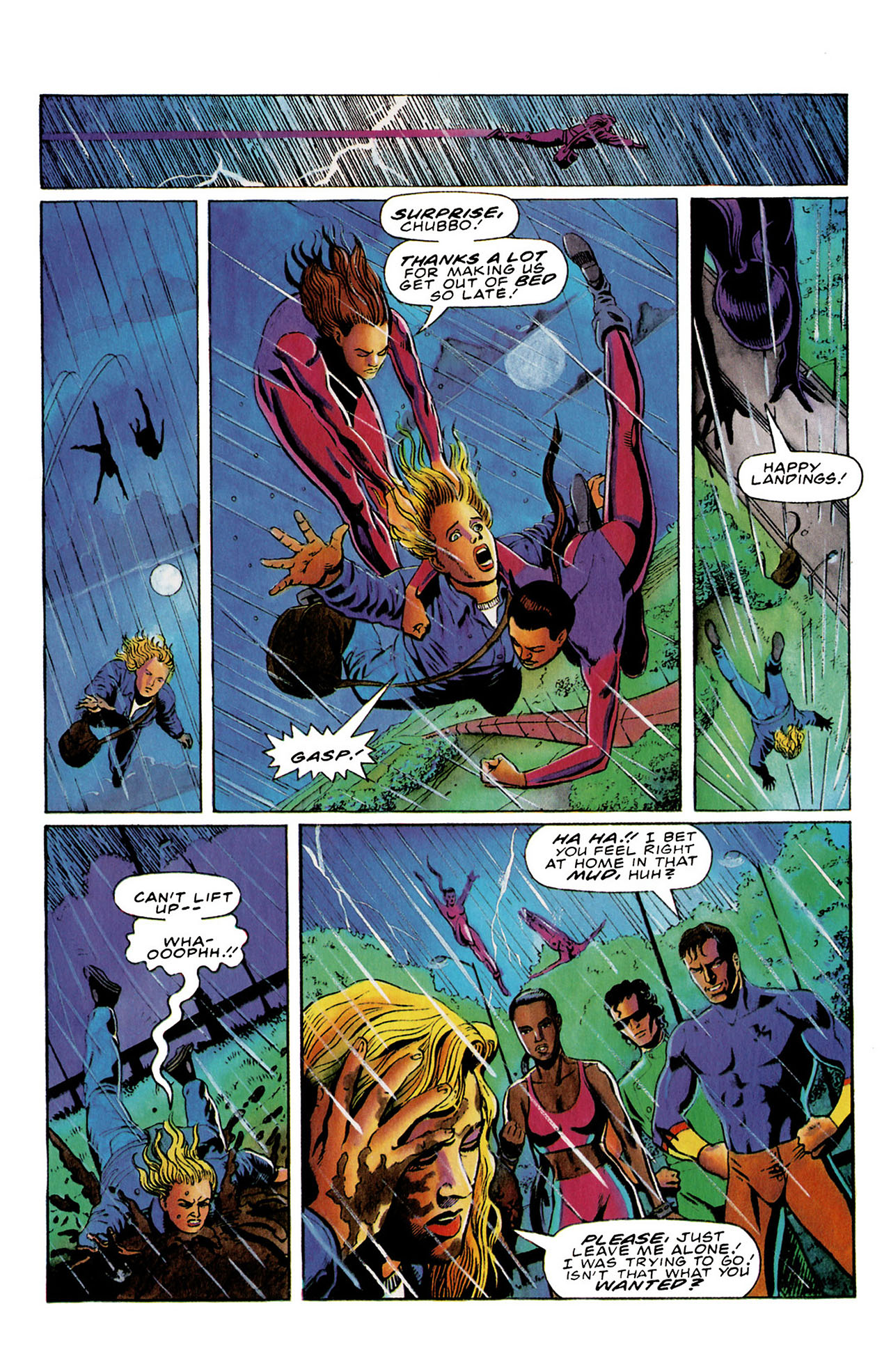 Read online Harbinger (1992) comic -  Issue #26 - 21