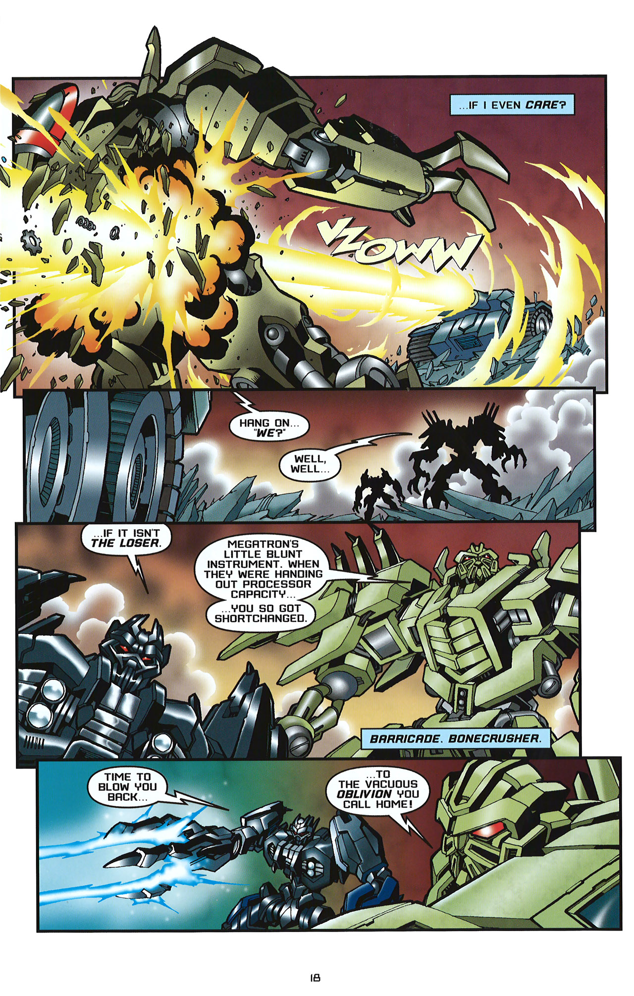 Read online Transformers: Saga of the Allspark comic -  Issue #2 - 21