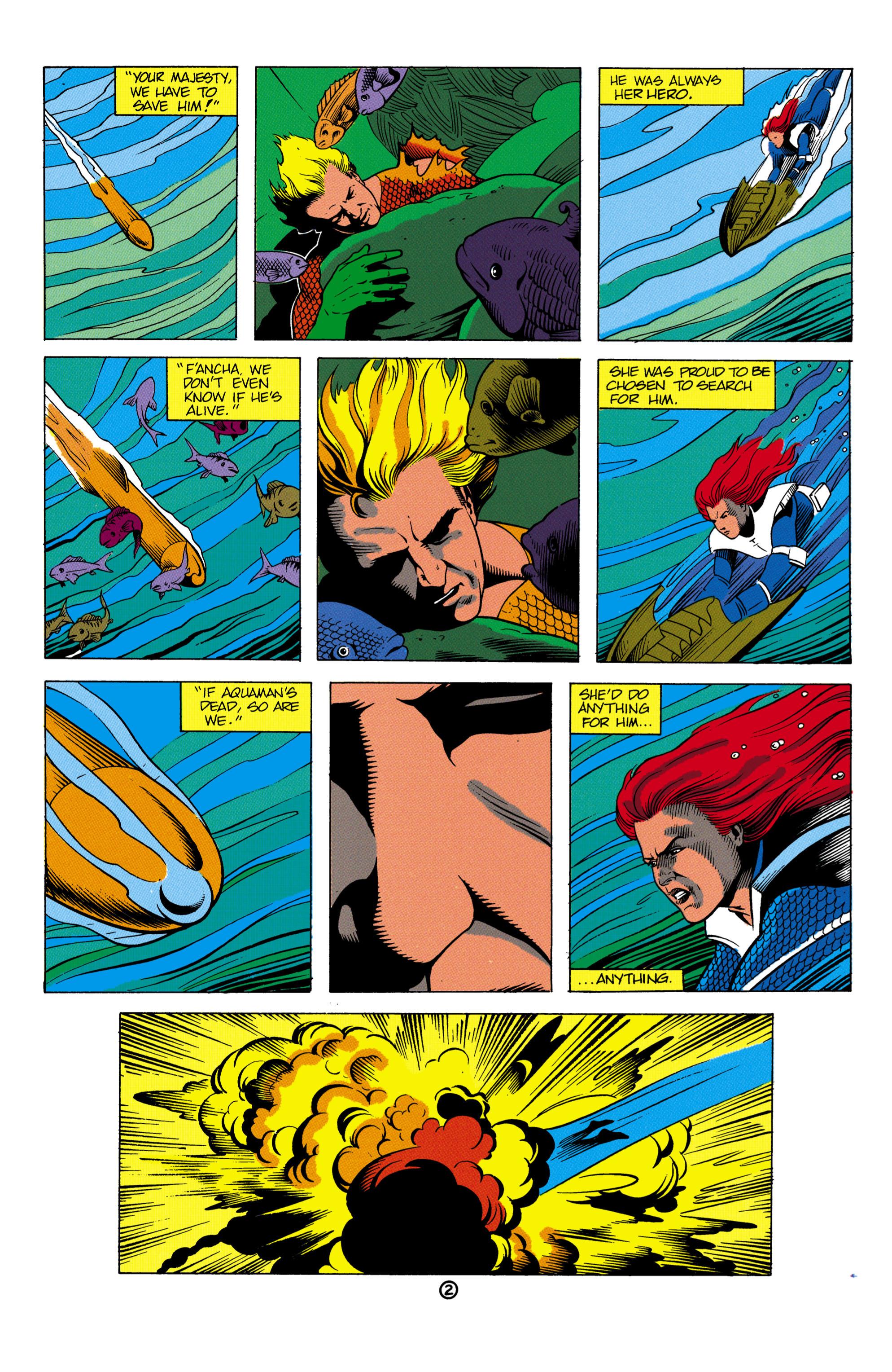 Read online Aquaman (1991) comic -  Issue #2 - 3