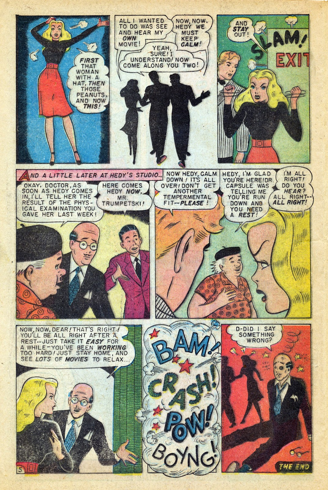 Read online Millie the Model comic -  Issue #14 - 28