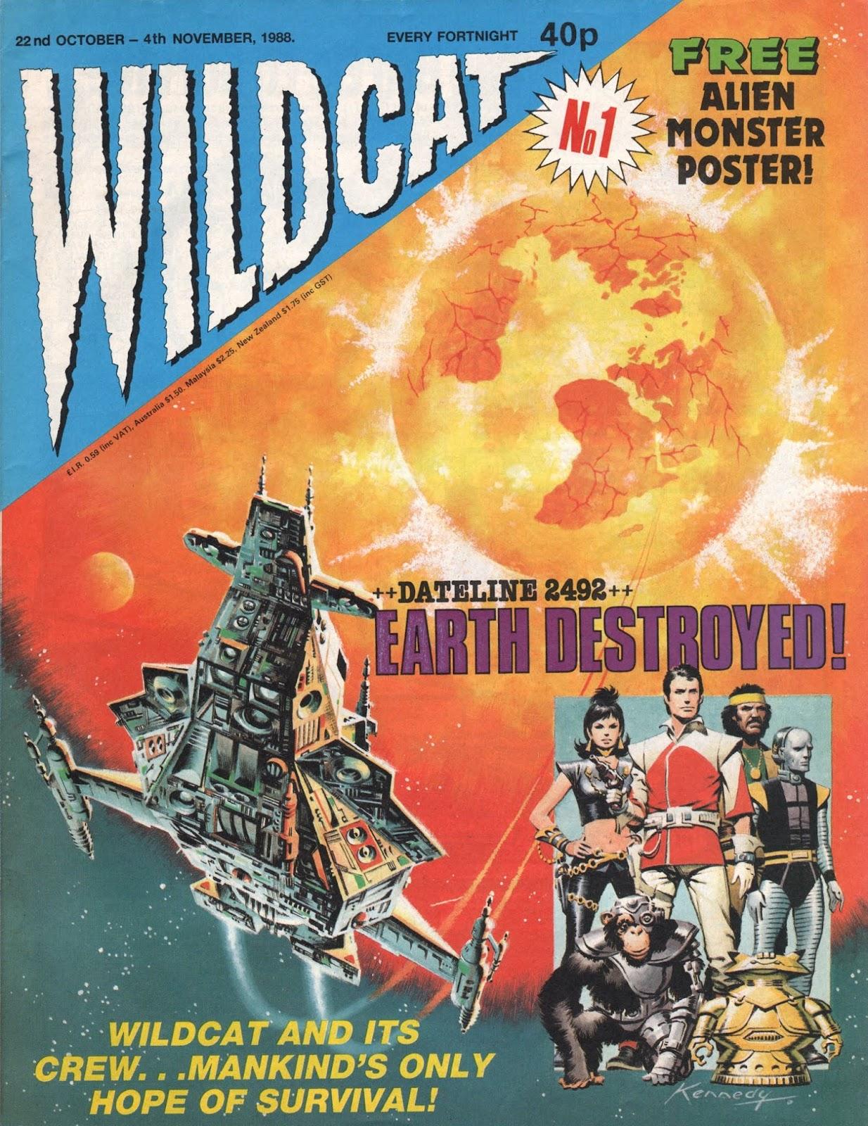 Wildcat 1 Page 1