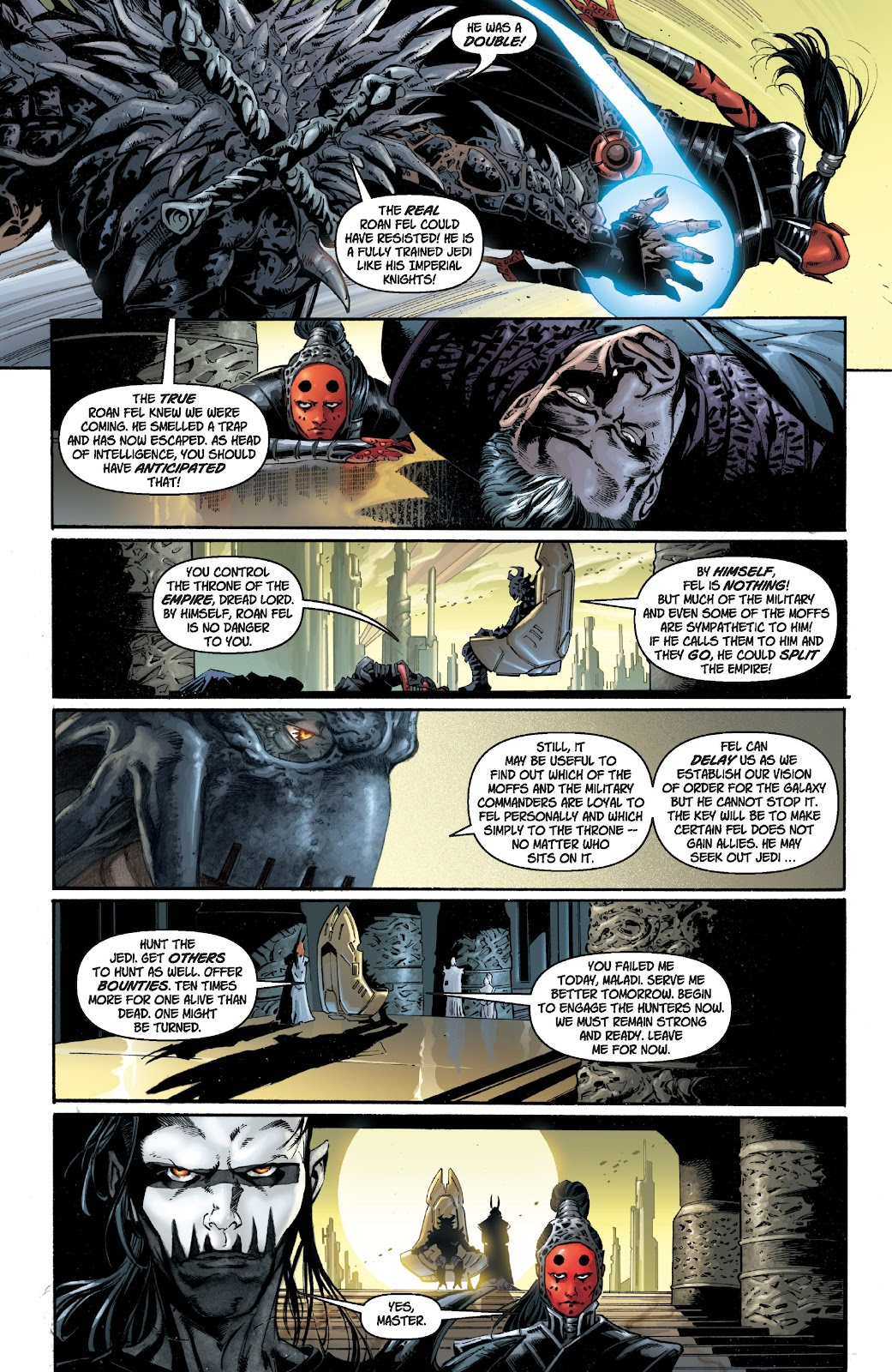 Read online Star Wars Legends: Legacy - Epic Collection comic -  Issue # TPB 1 (Part 1) - 26