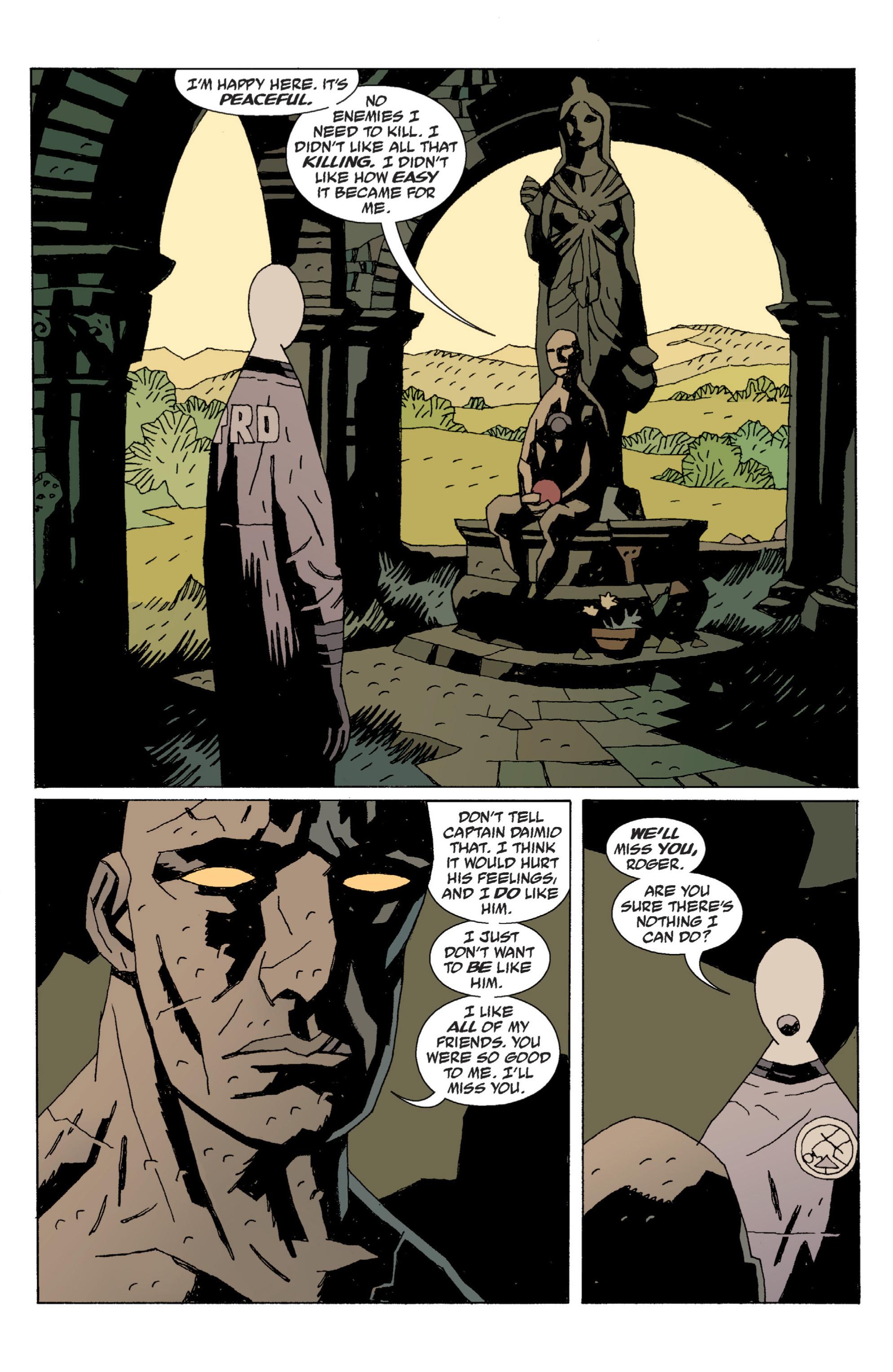 Read online B.P.R.D. (2003) comic -  Issue # TPB 6 - 134