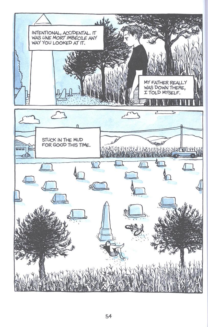 Read online Fun Home: A Family Tragicomic comic -  Issue # TPB - 61