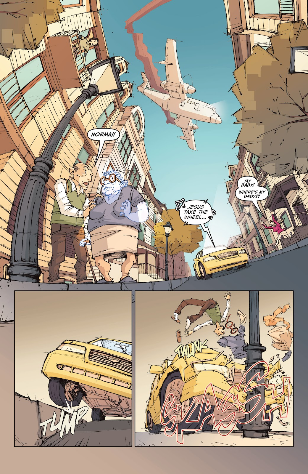 Read online The End Times of Bram and Ben comic -  Issue #1 - 6