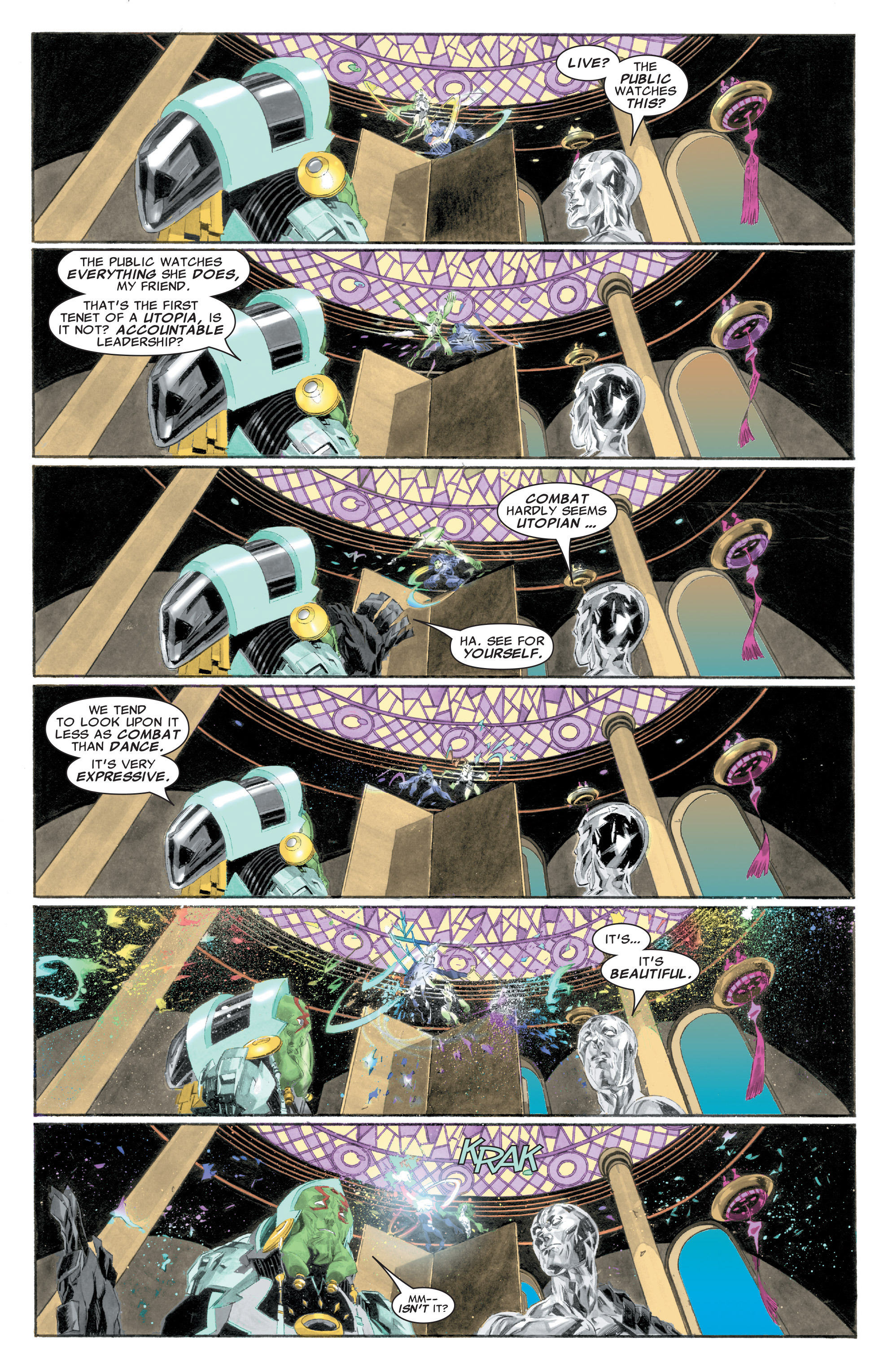Read online Silver Surfer: In Thy Name comic -  Issue #1 - 15