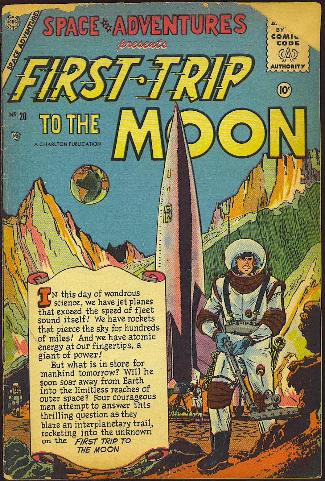 Space Adventures (1952) issue 20 - Page 1