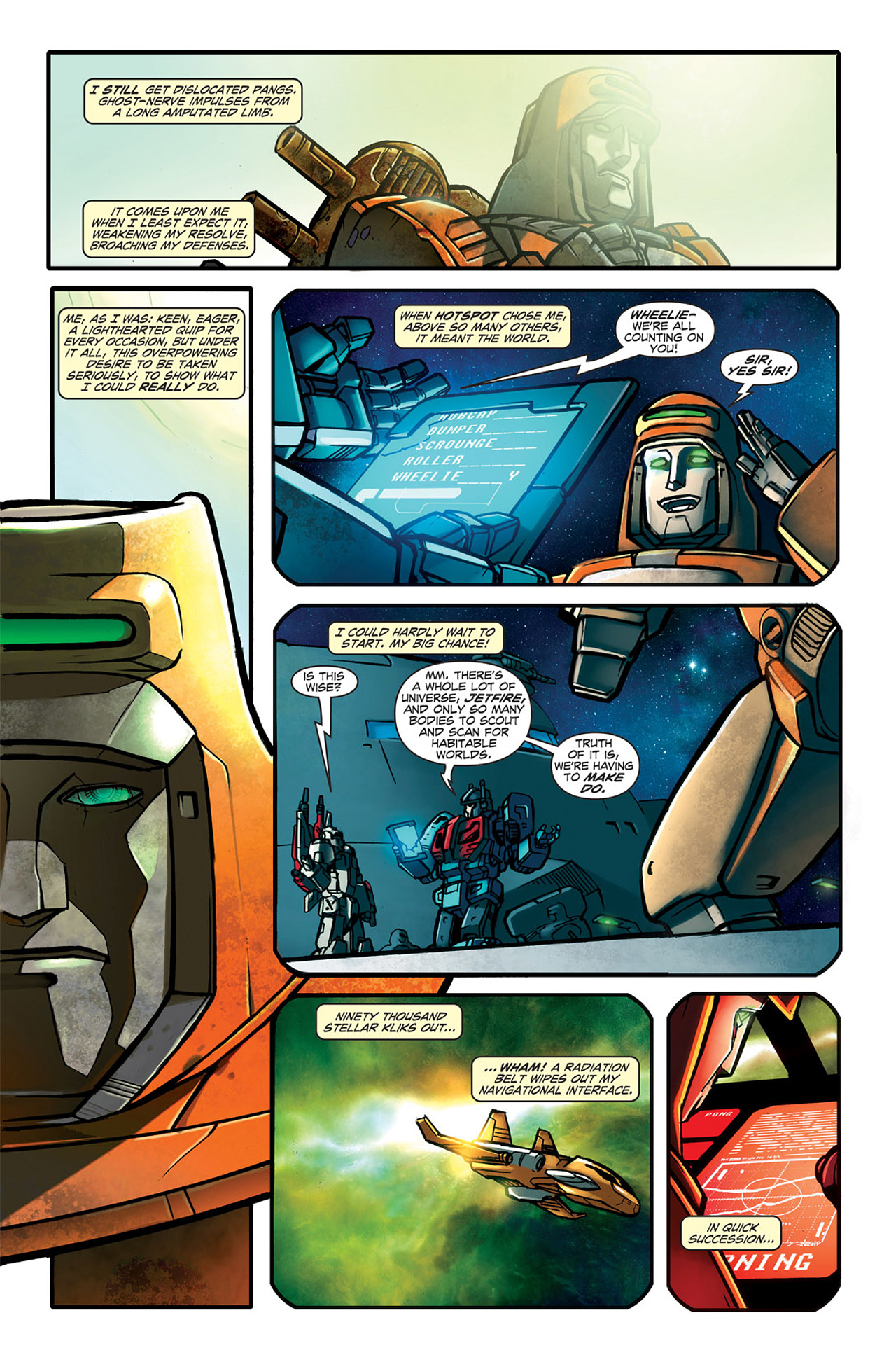 Read online Transformers Spotlight: Wheelie comic -  Issue # Full - 8