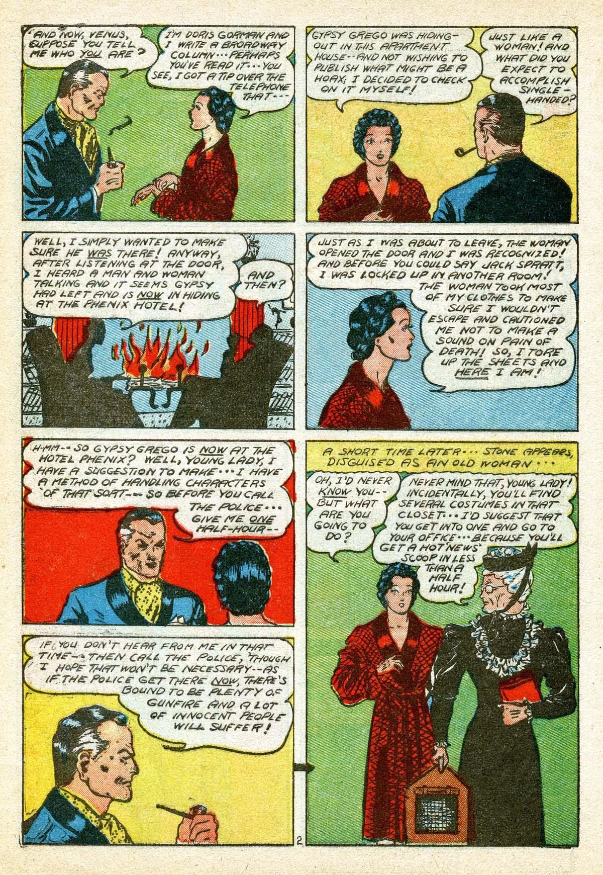 Read online Amazing Man Comics comic -  Issue #8 - 14