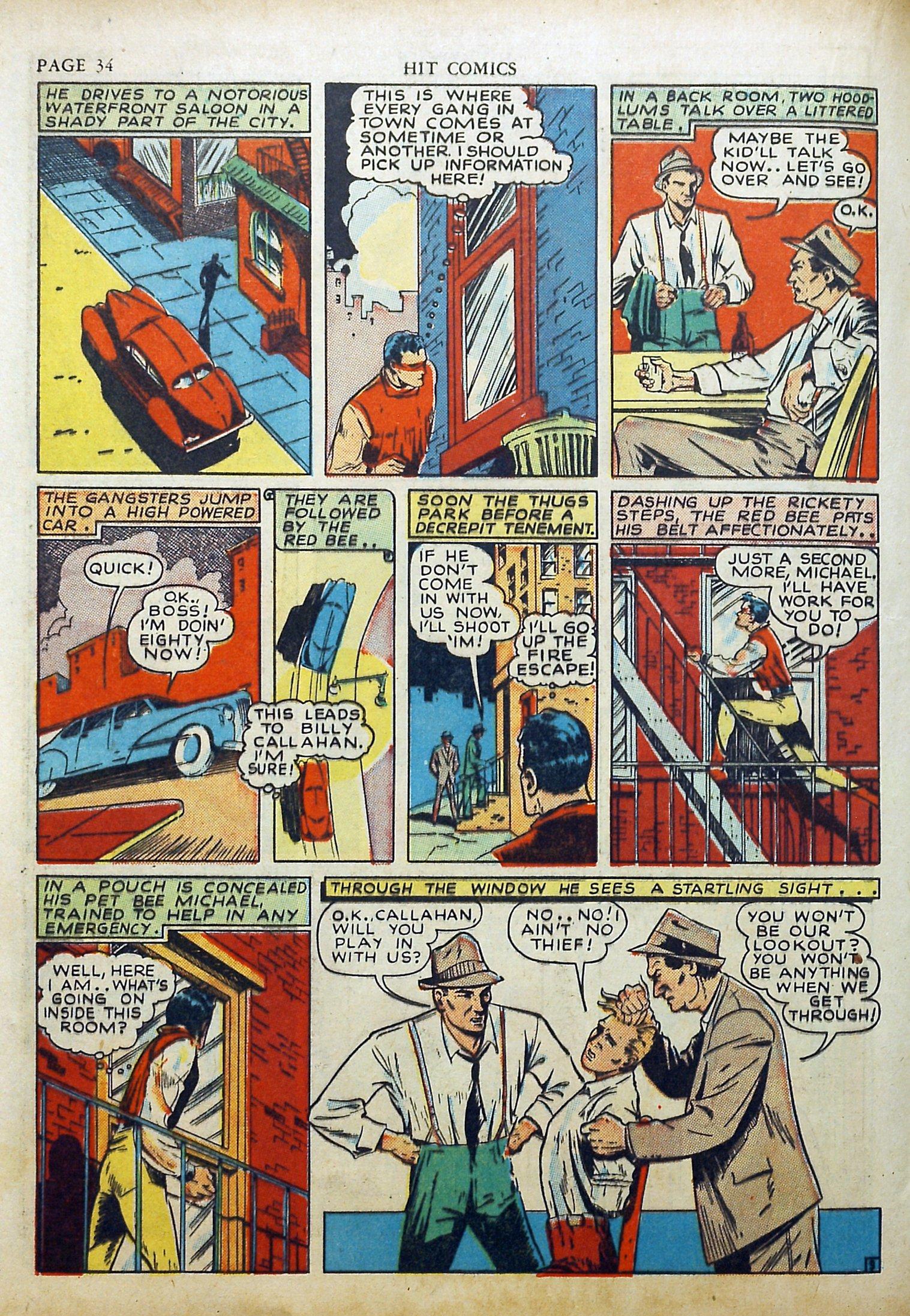Read online Hit Comics comic -  Issue #17 - 36