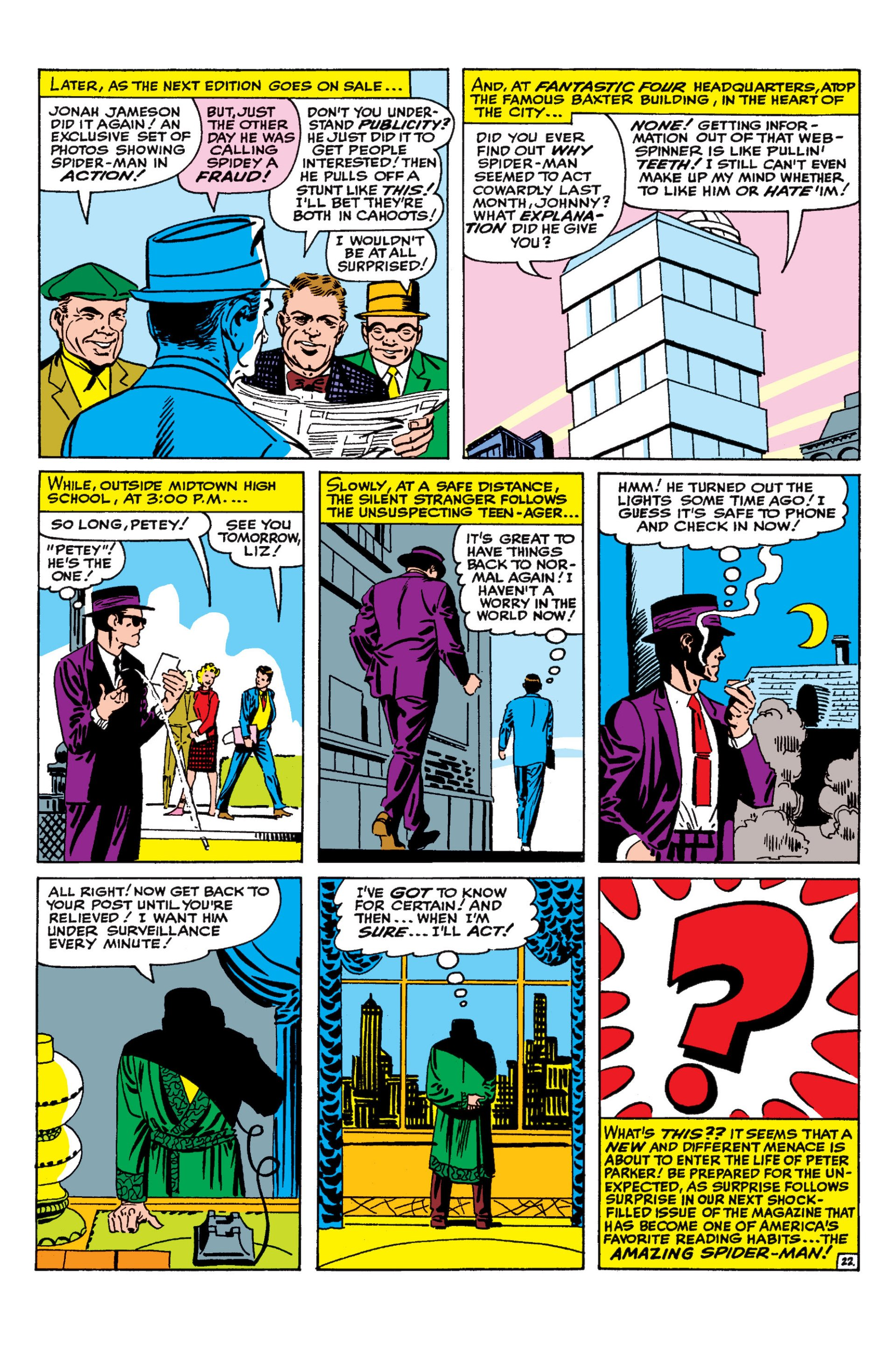 The Amazing Spider-Man (1963) 19 Page 22