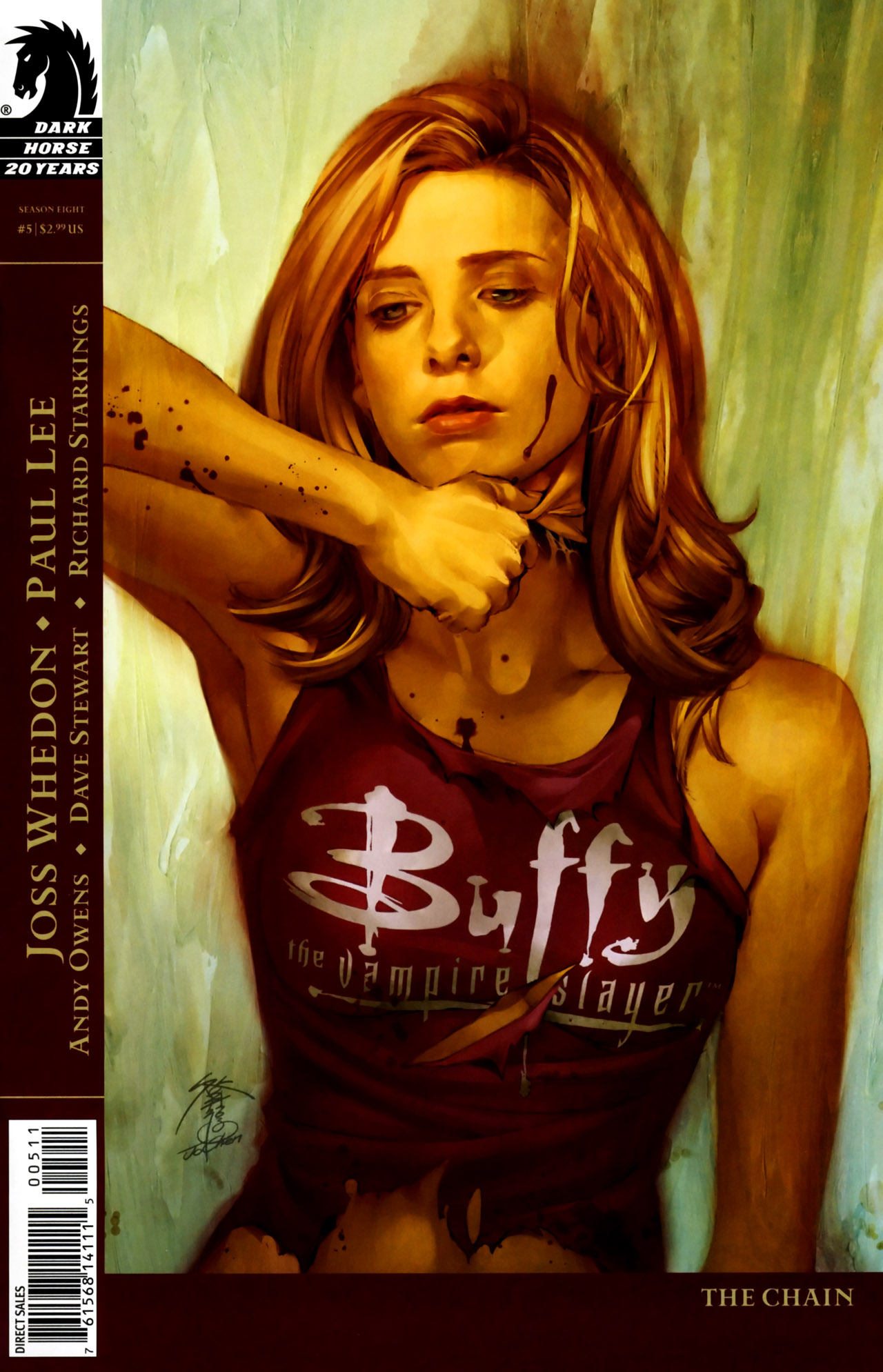 Buffy the Vampire Slayer Season Eight 5 Page 1