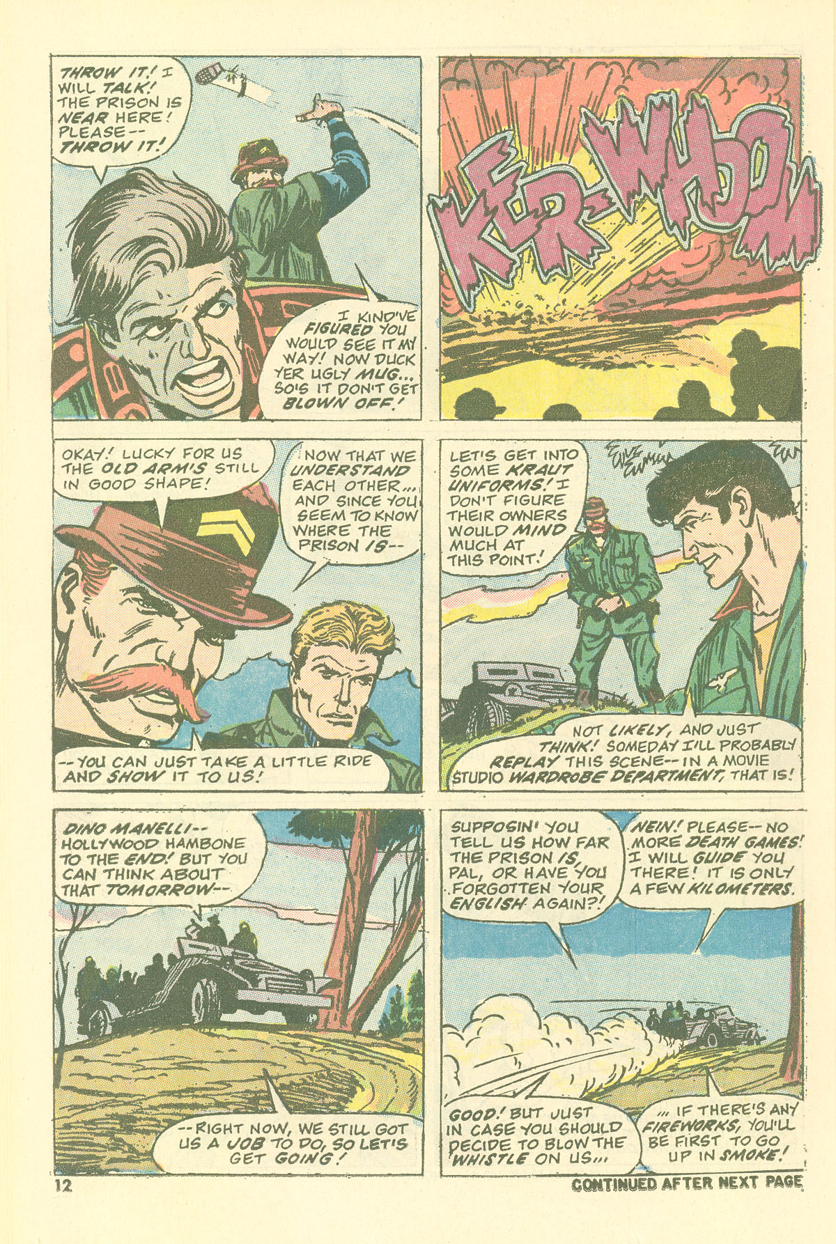 Read online Sgt. Fury comic -  Issue #115 - 14