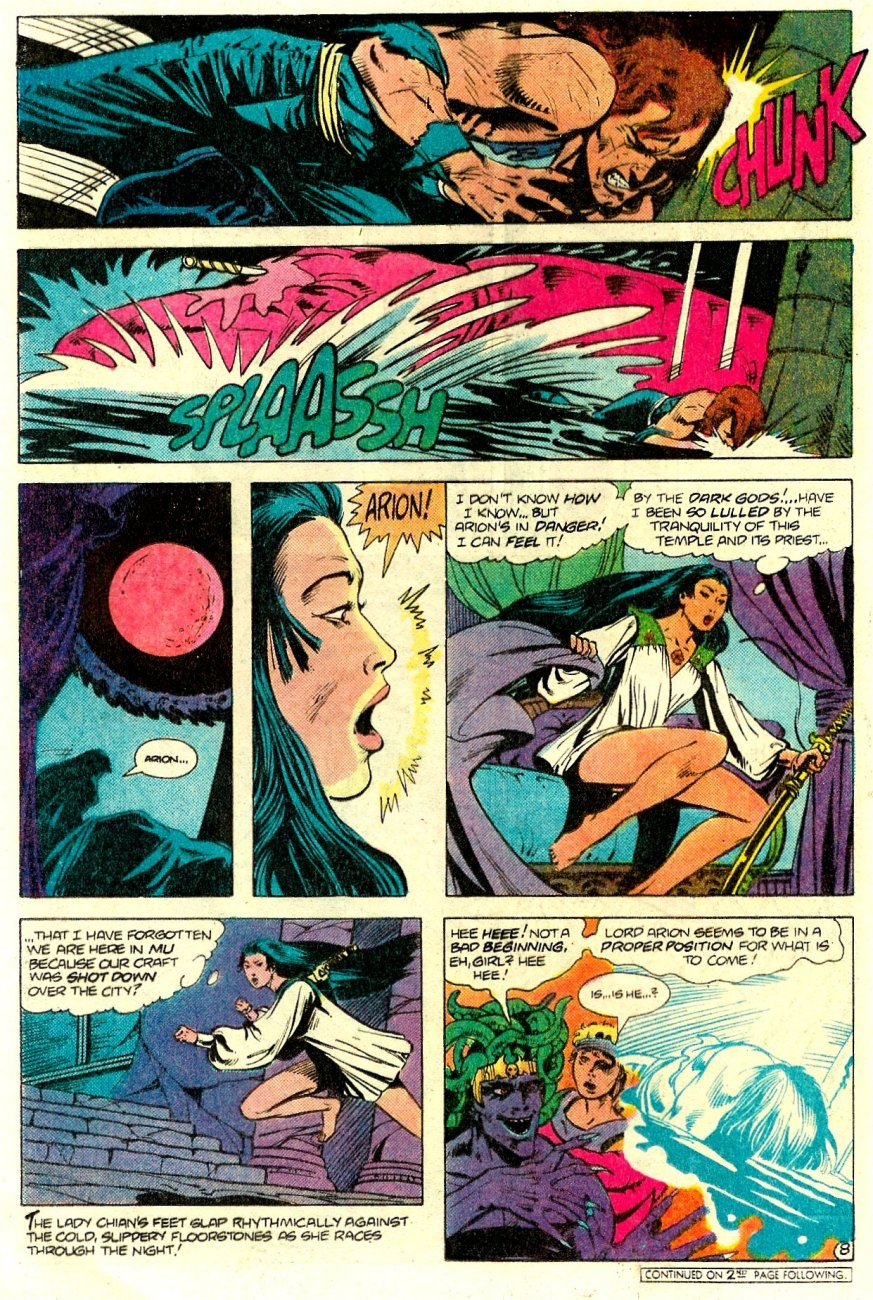 Read online Arion, Lord of Atlantis comic -  Issue #15 - 9