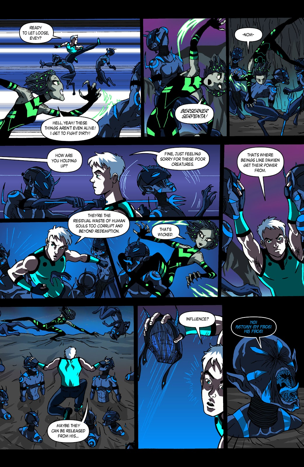 Sentinels issue 3 - Page 11