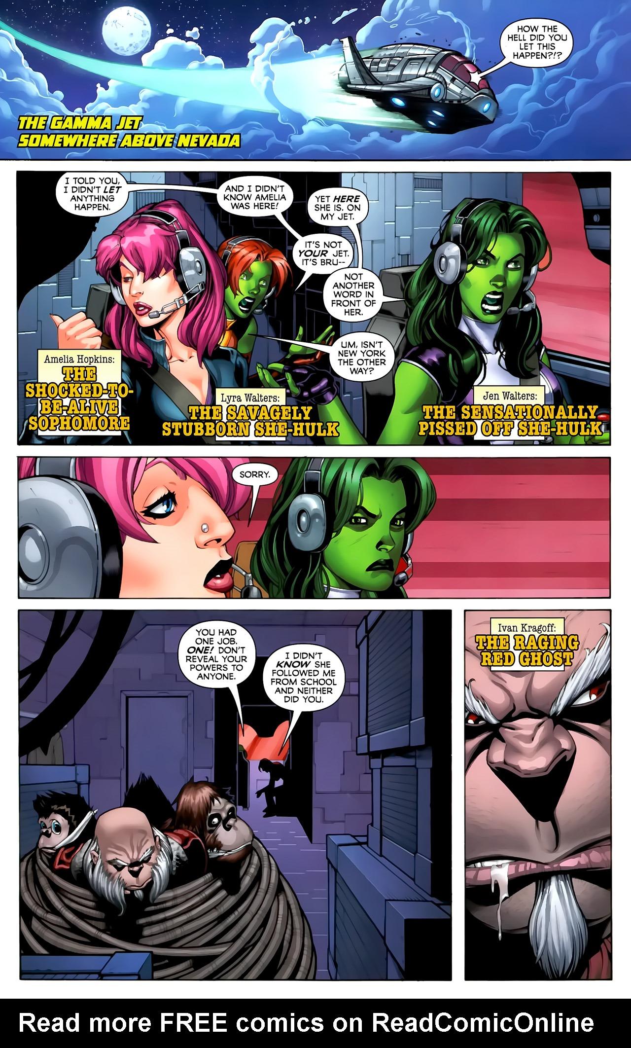 Read online She-Hulks comic -  Issue #3 - 3
