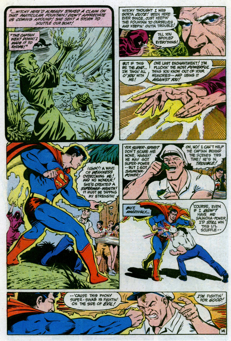 Read online Action Comics (1938) comic -  Issue #566 - 15