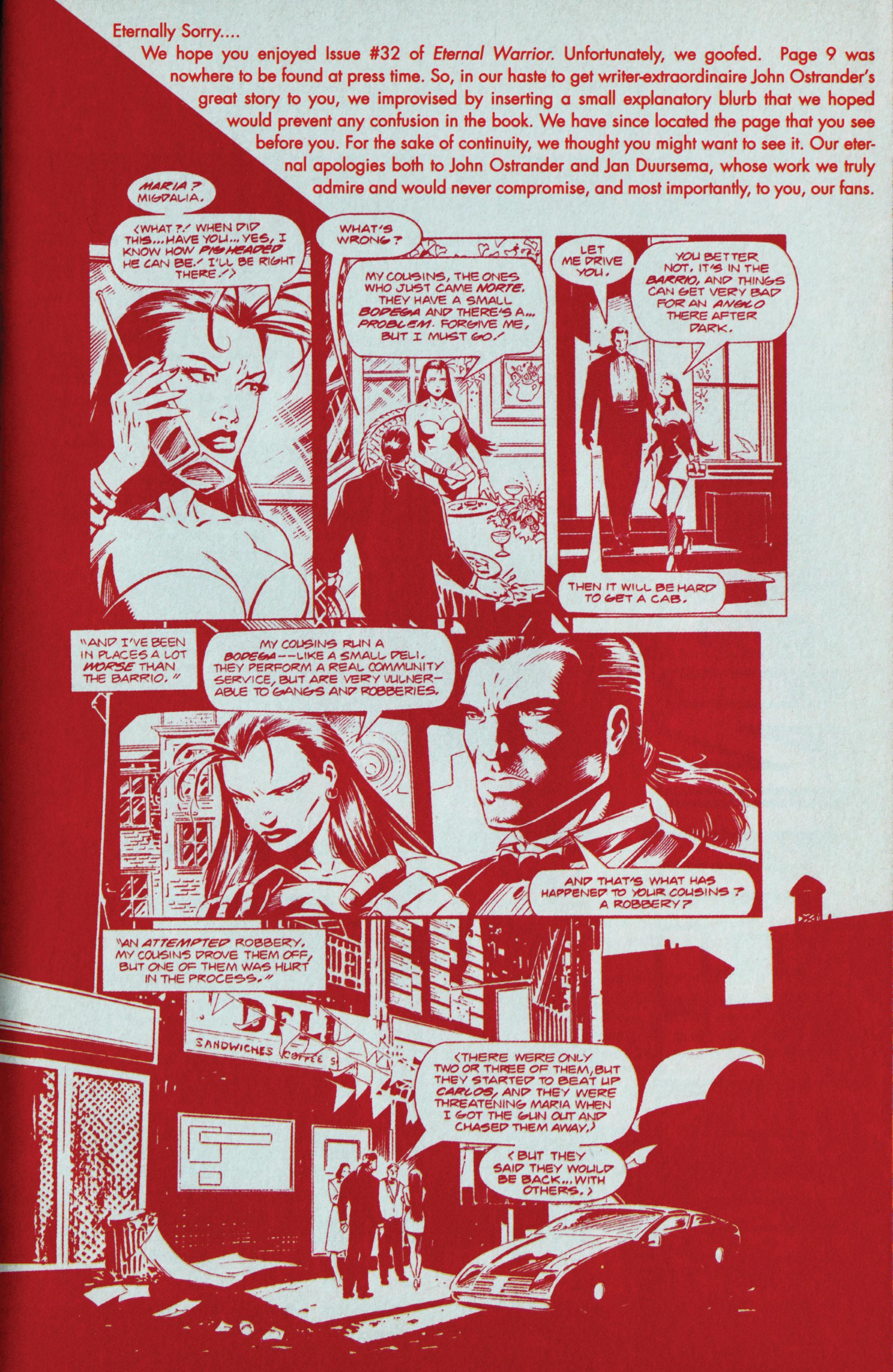 Read online Eternal Warrior (1992) comic -  Issue #36 - 22