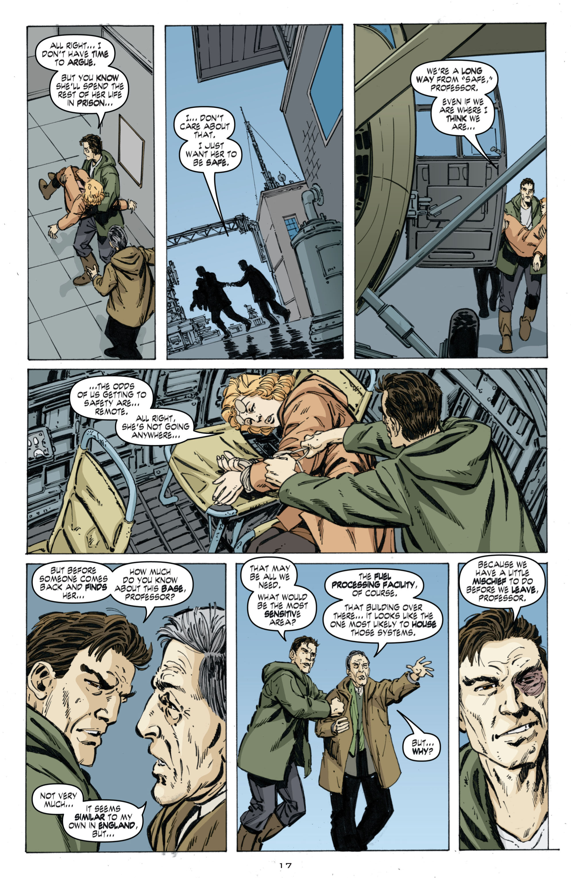 Read online Cold War comic -  Issue # TPB - 101