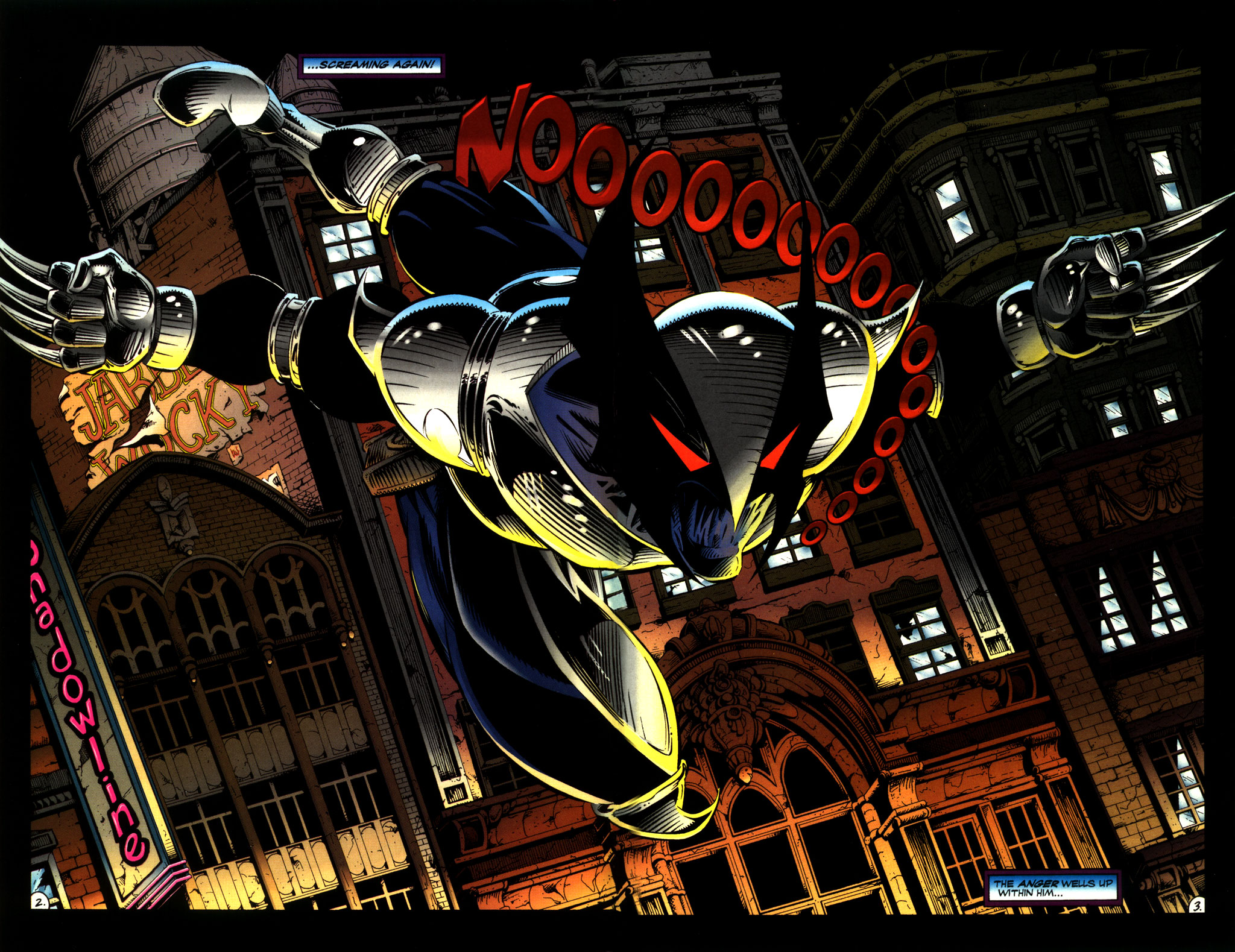 Read online ShadowHawk comic -  Issue #8 - 4