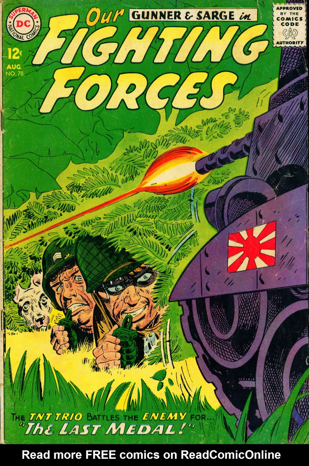 Our Fighting Forces (1954) issue 78 - Page 1