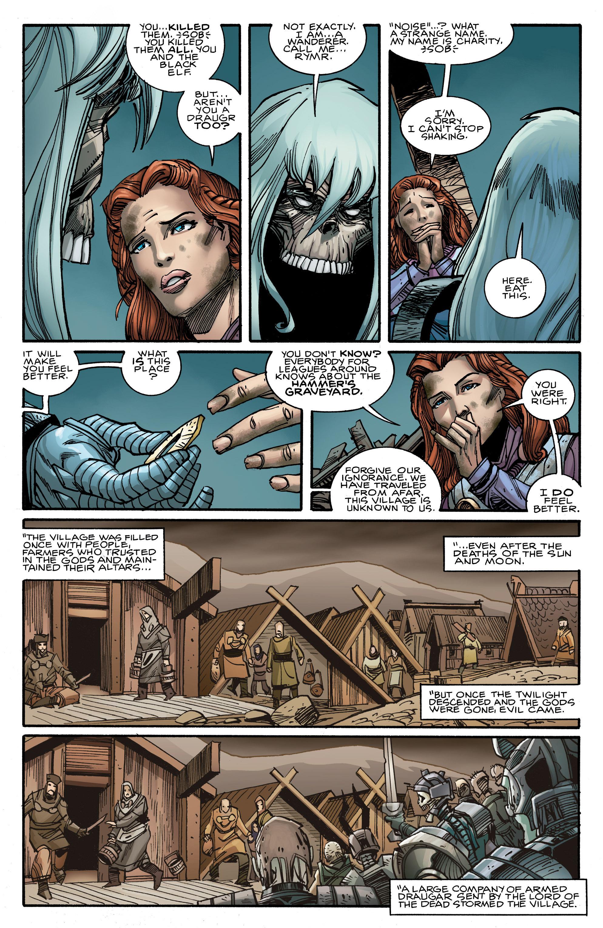 Read online Ragnarok comic -  Issue #10 - 19
