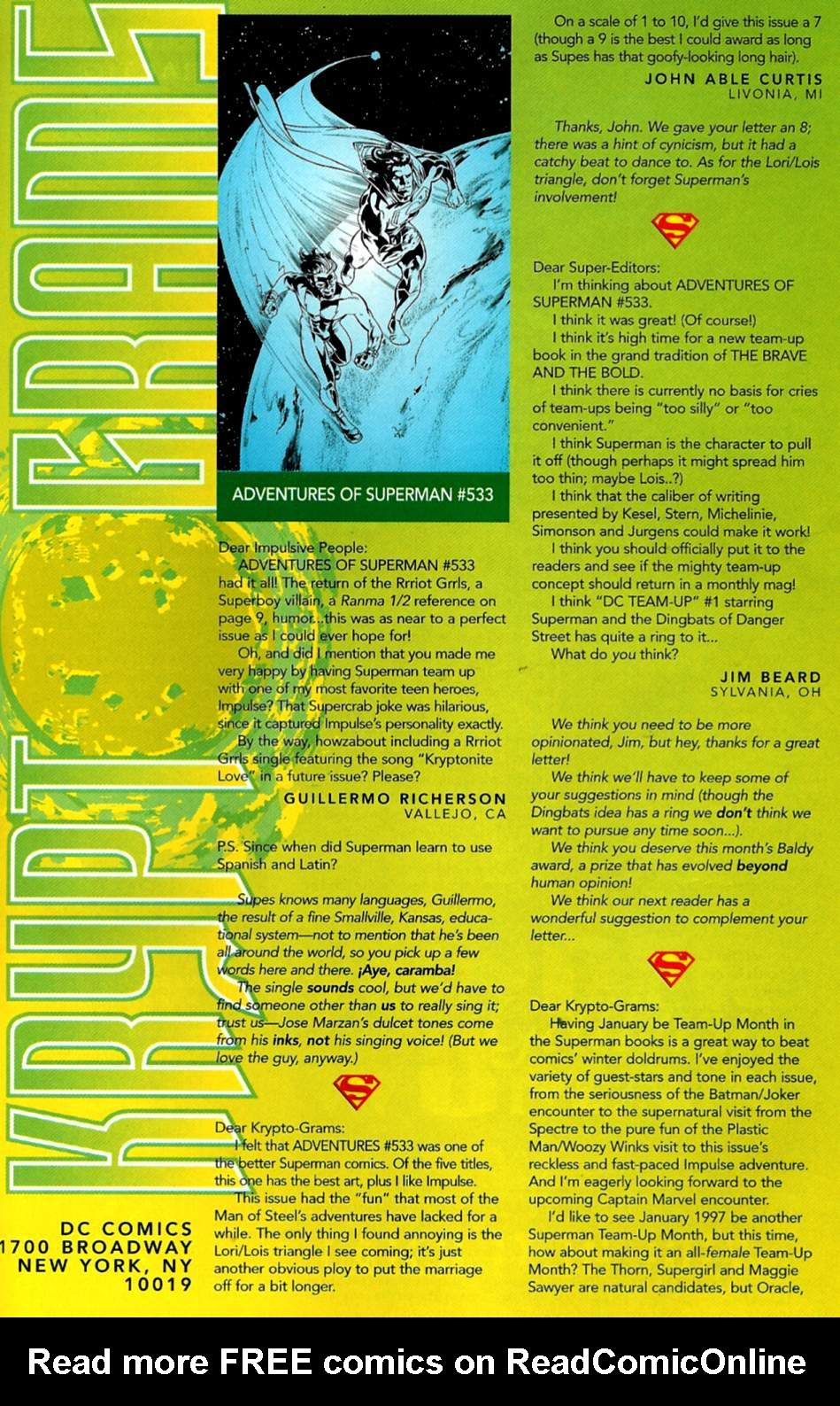 Read online Adventures of Superman (1987) comic -  Issue #537 - 24