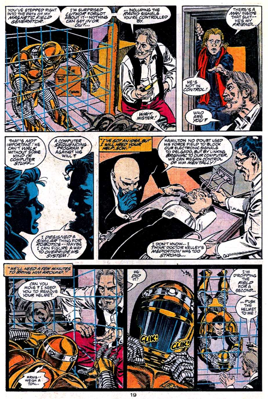 Read online Adventures of Superman (1987) comic -  Issue #451 - 20
